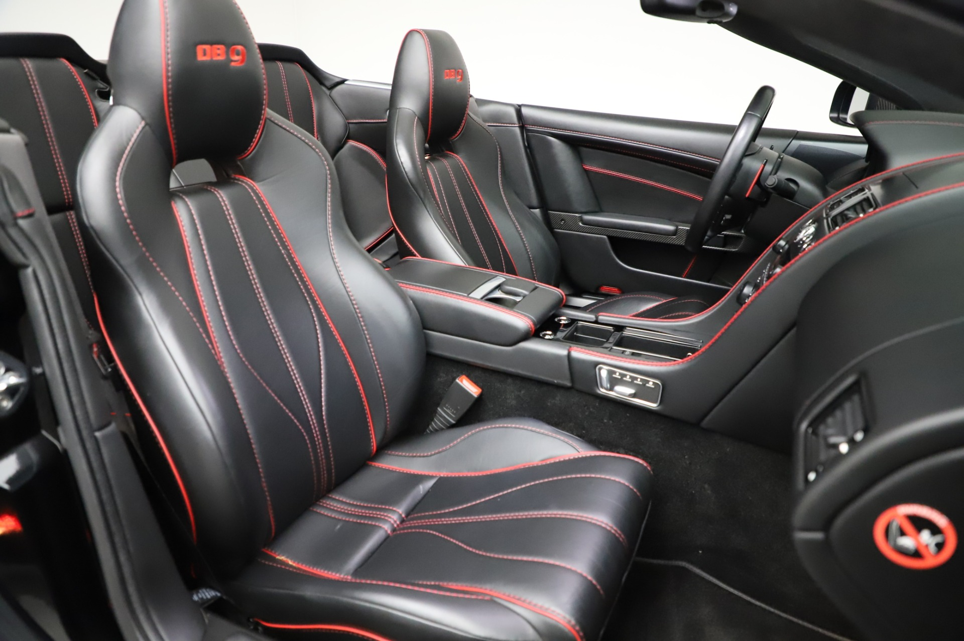 Used 2015 Aston Martin DB9 Carbon Edition Volante For Sale In Westport, CT 1919_p25