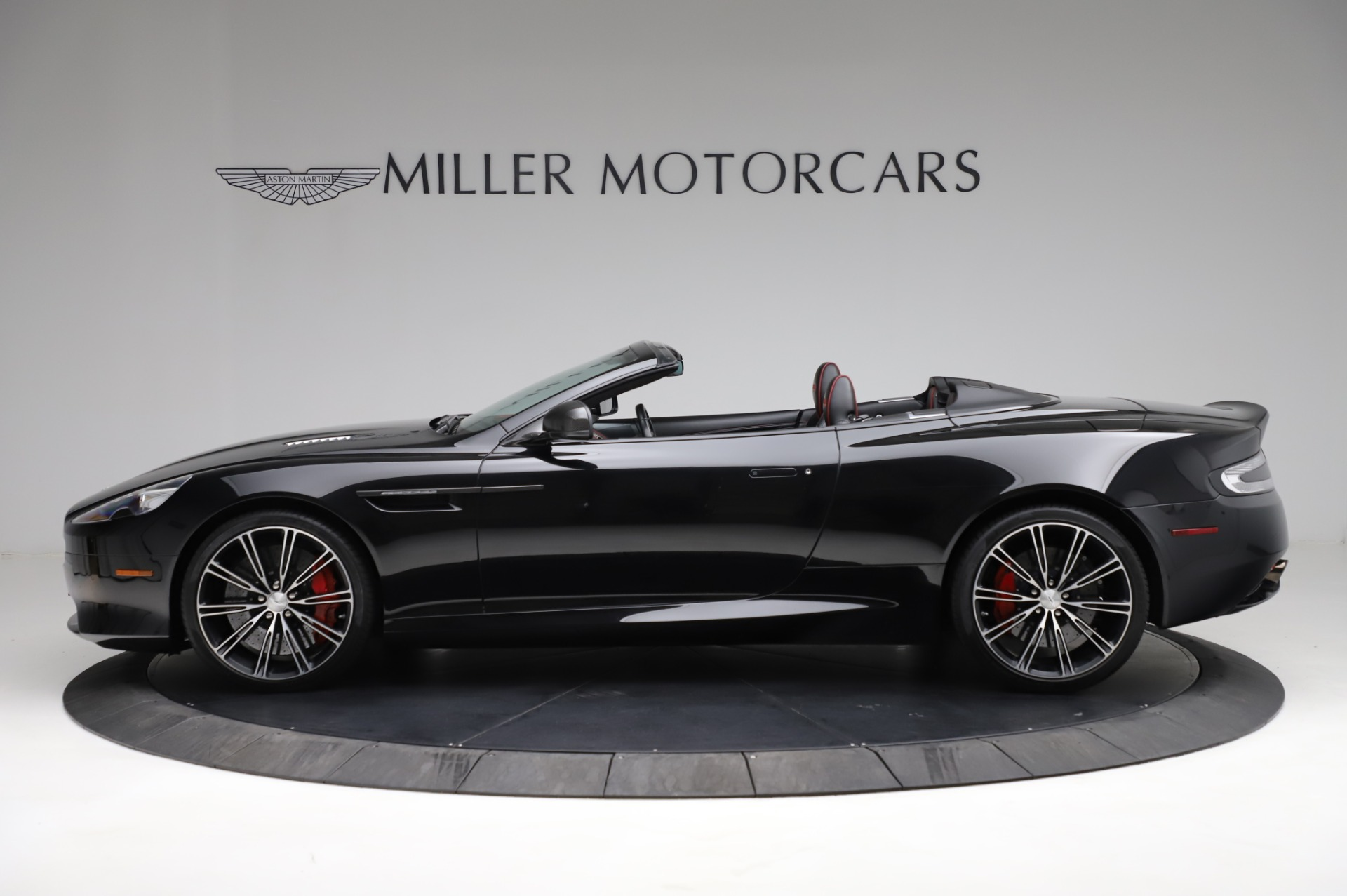 Used 2015 Aston Martin DB9 Carbon Edition Volante For Sale In Westport, CT 1919_p2