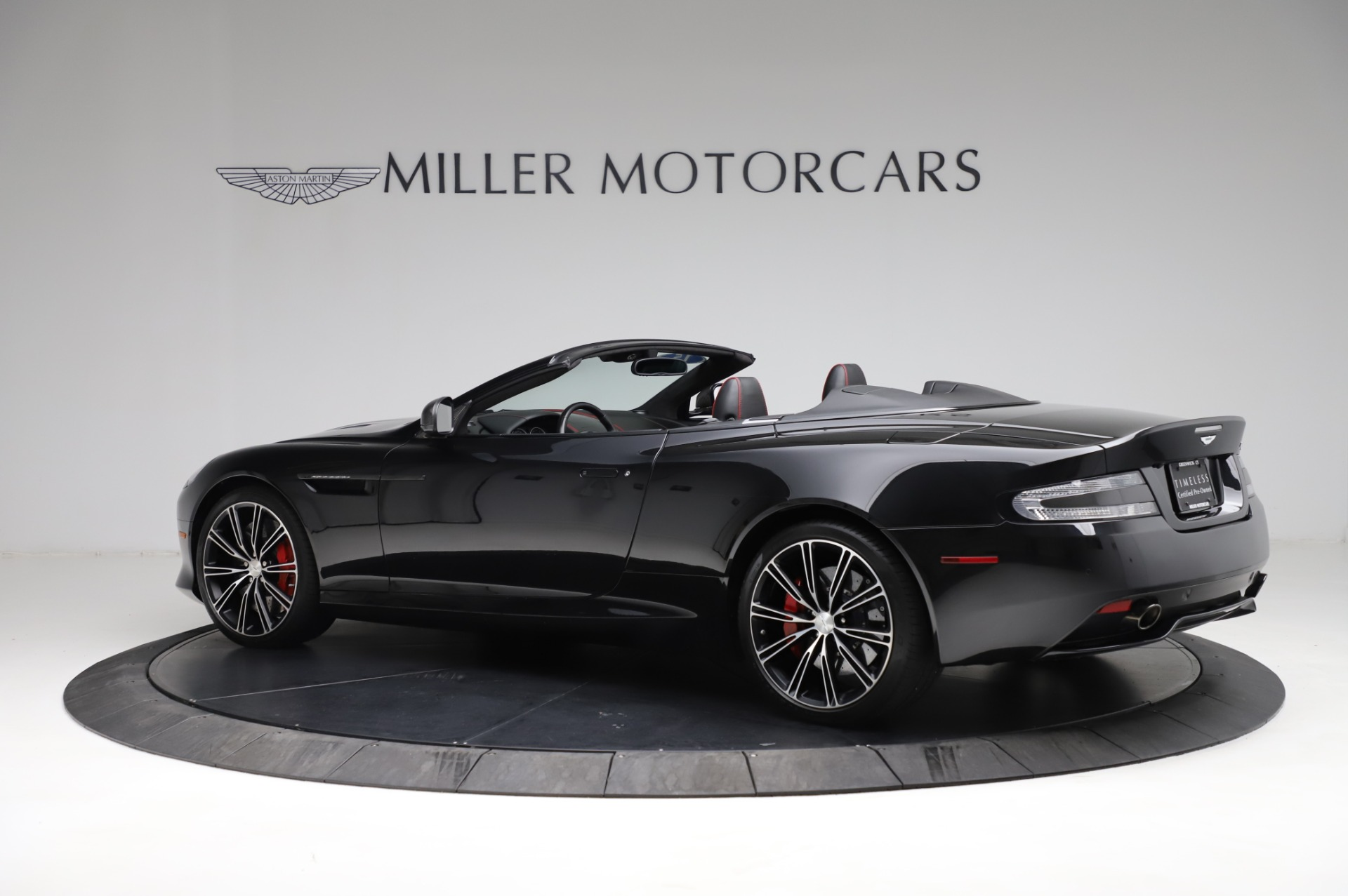 Used 2015 Aston Martin DB9 Carbon Edition Volante For Sale In Westport, CT 1919_p3