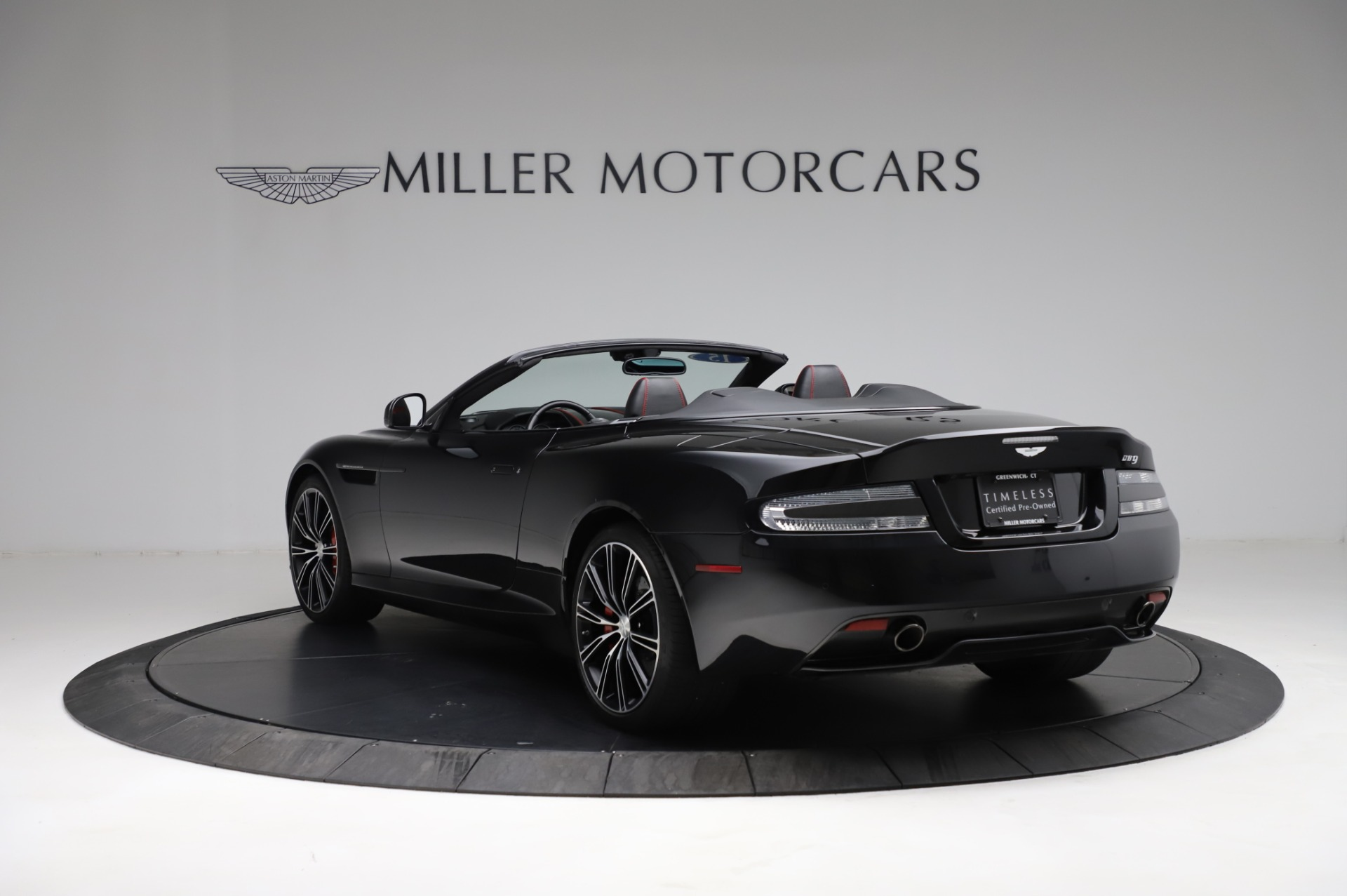 Used 2015 Aston Martin DB9 Carbon Edition Volante For Sale In Westport, CT 1919_p4