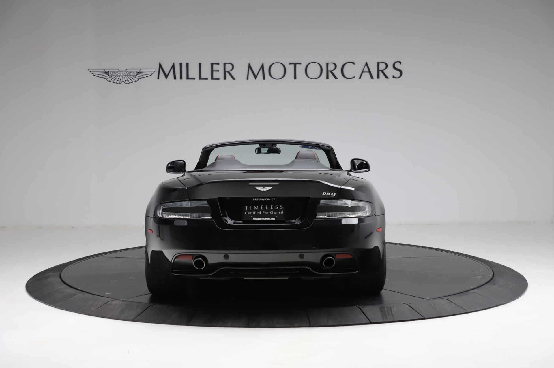 Used 2015 Aston Martin DB9 Carbon Edition Volante For Sale In Westport, CT 1919_p5