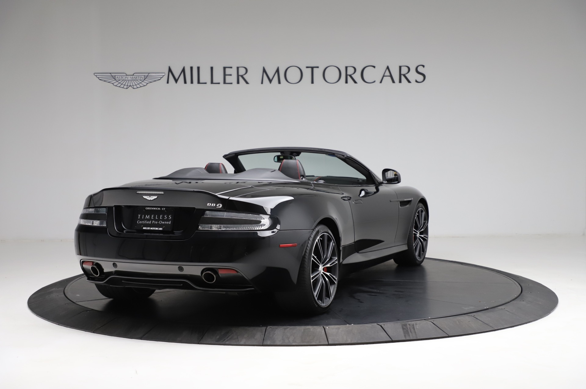 Used 2015 Aston Martin DB9 Carbon Edition Volante For Sale In Westport, CT 1919_p6