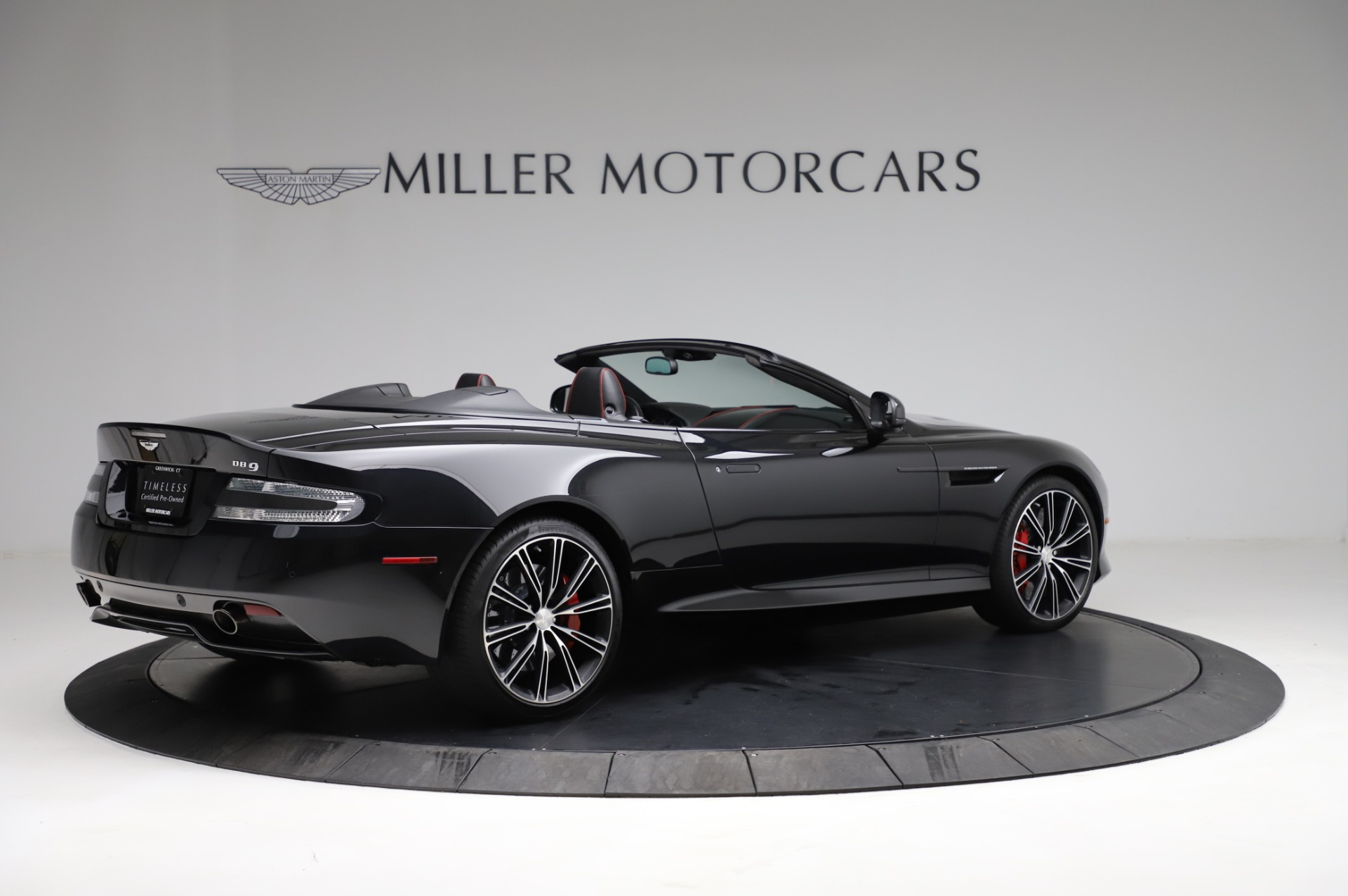 Used 2015 Aston Martin DB9 Carbon Edition Volante For Sale In Westport, CT 1919_p7