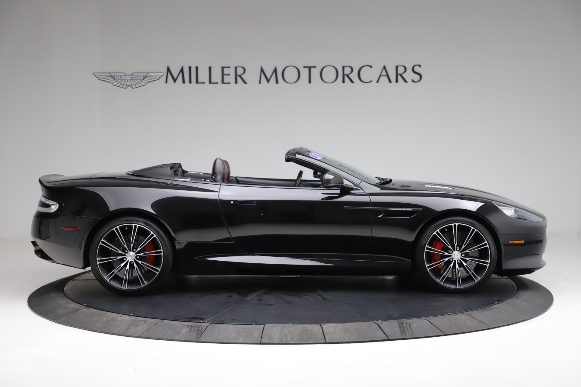 Used 2015 Aston Martin DB9 Carbon Edition Volante For Sale In Westport, CT 1919_p8