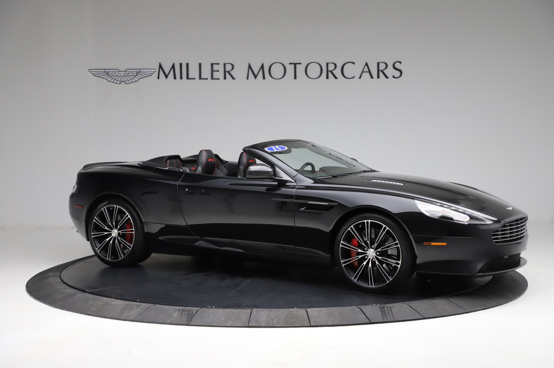 Used 2015 Aston Martin DB9 Carbon Edition Volante For Sale In Westport, CT 1919_p9