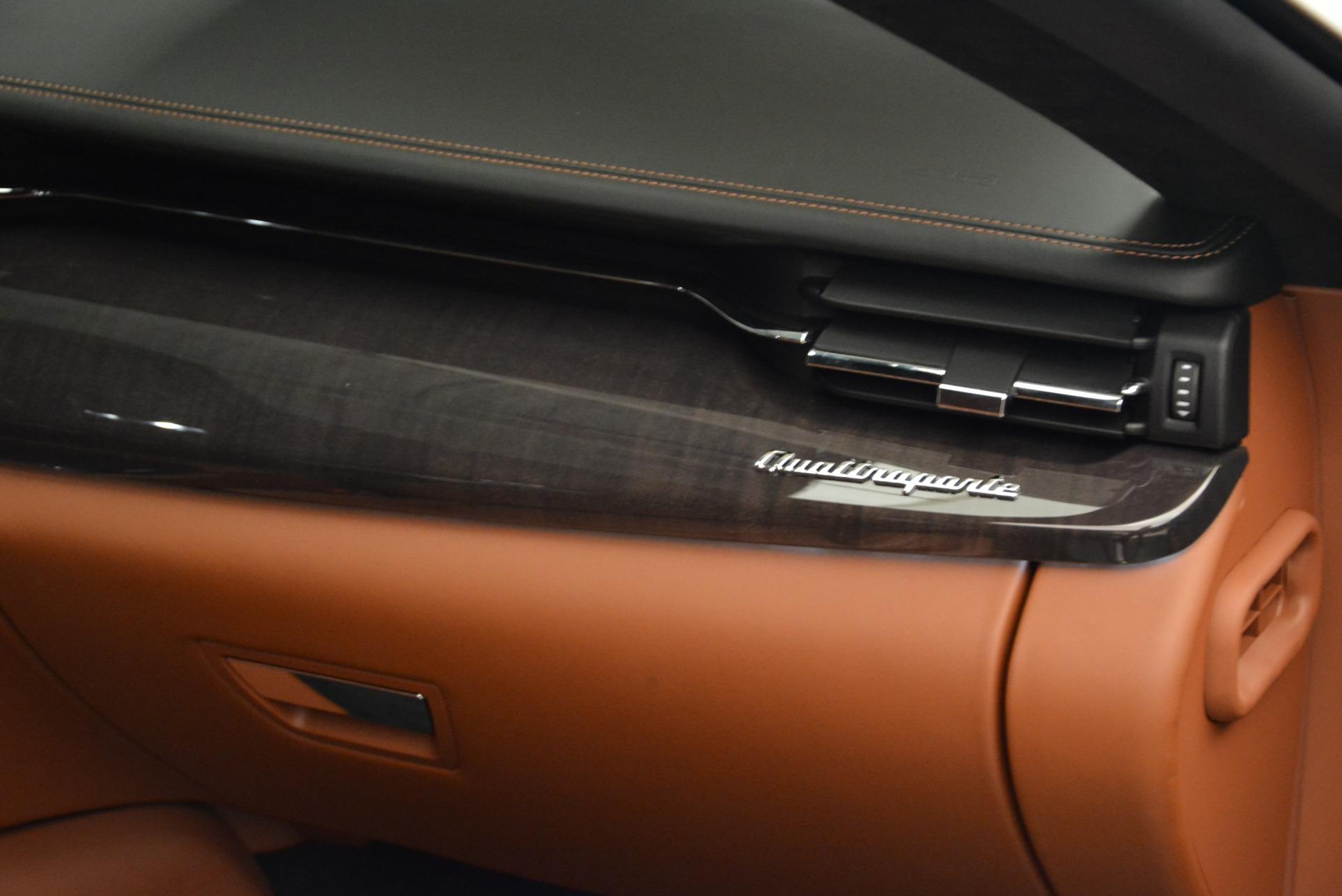 New 2018 Maserati Quattroporte S Q4 GranLusso For Sale In Westport, CT 1926_p20