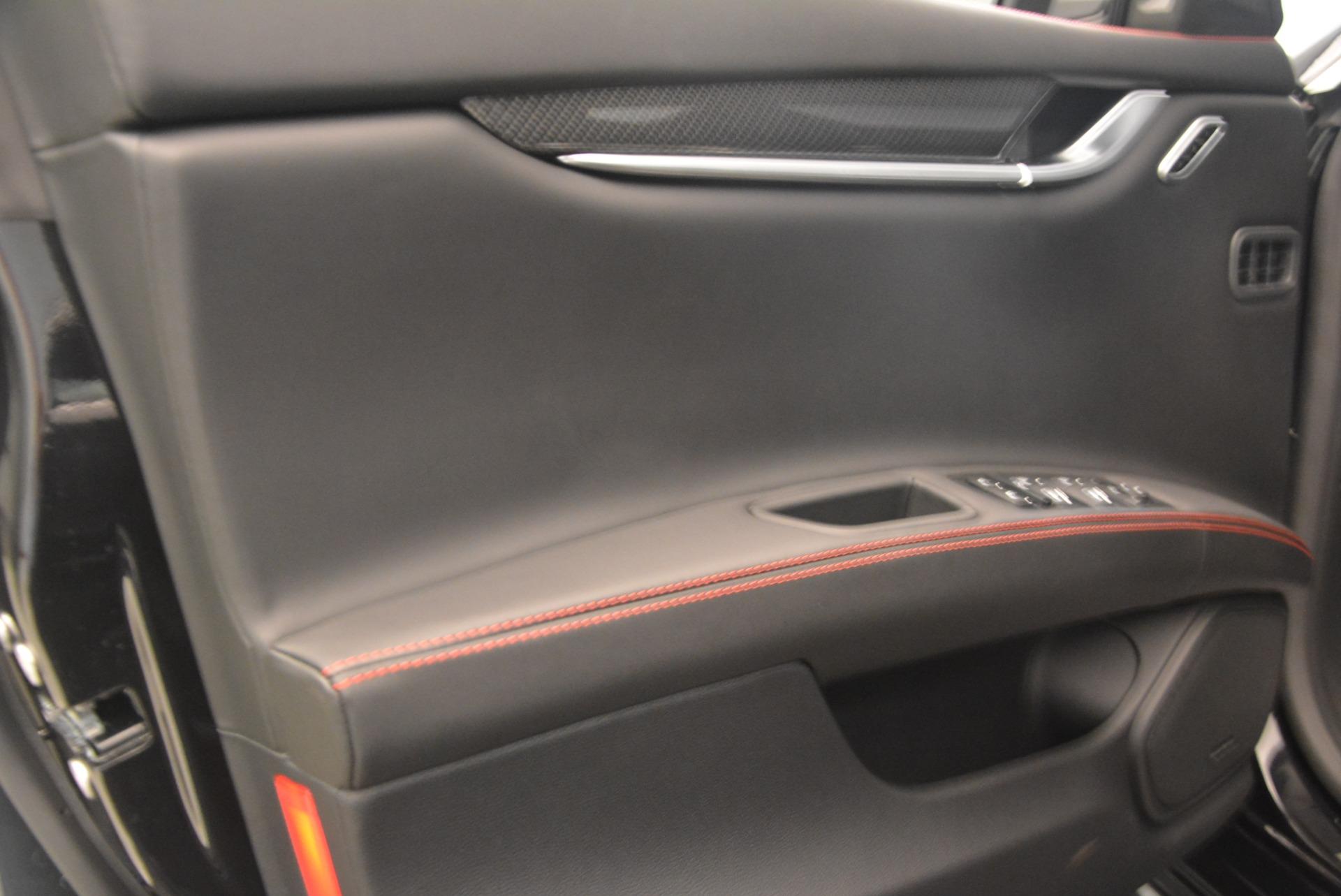 New 2018 Maserati Ghibli S Q4 GranSport For Sale In Westport, CT 1931_p18