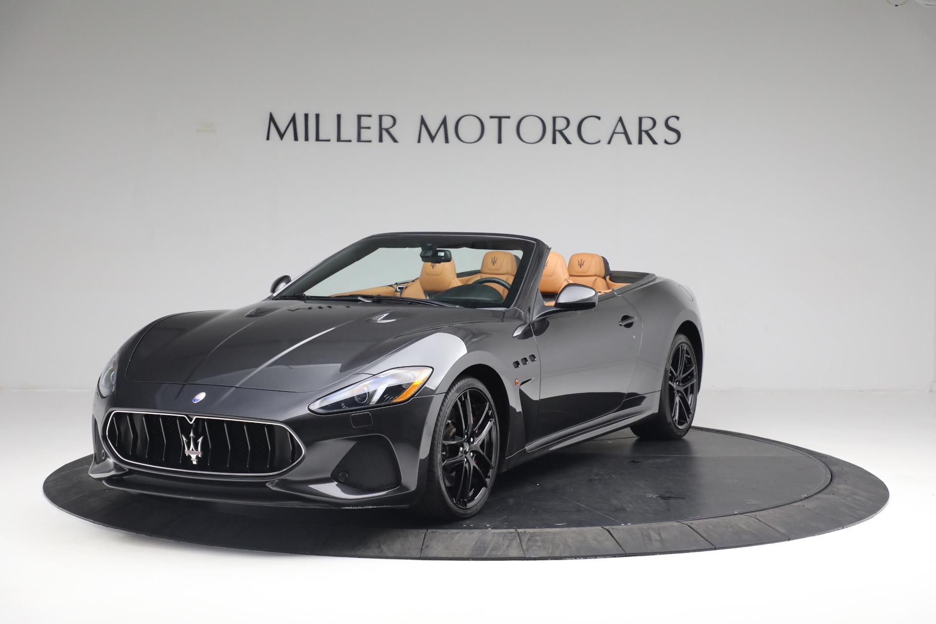 New 2018 Maserati GranTurismo MC Convertible For Sale In Westport, CT 1933_main