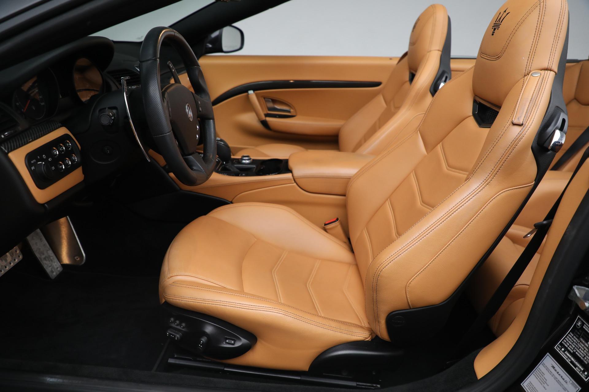 New 2018 Maserati GranTurismo MC Convertible For Sale In Westport, CT 1933_p20