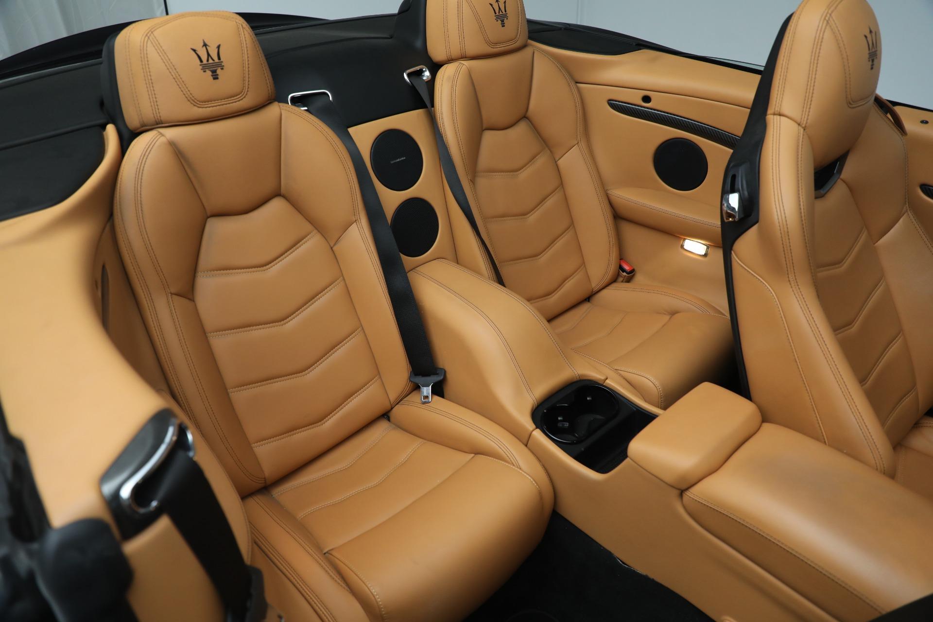 New 2018 Maserati GranTurismo MC Convertible For Sale In Westport, CT 1933_p26