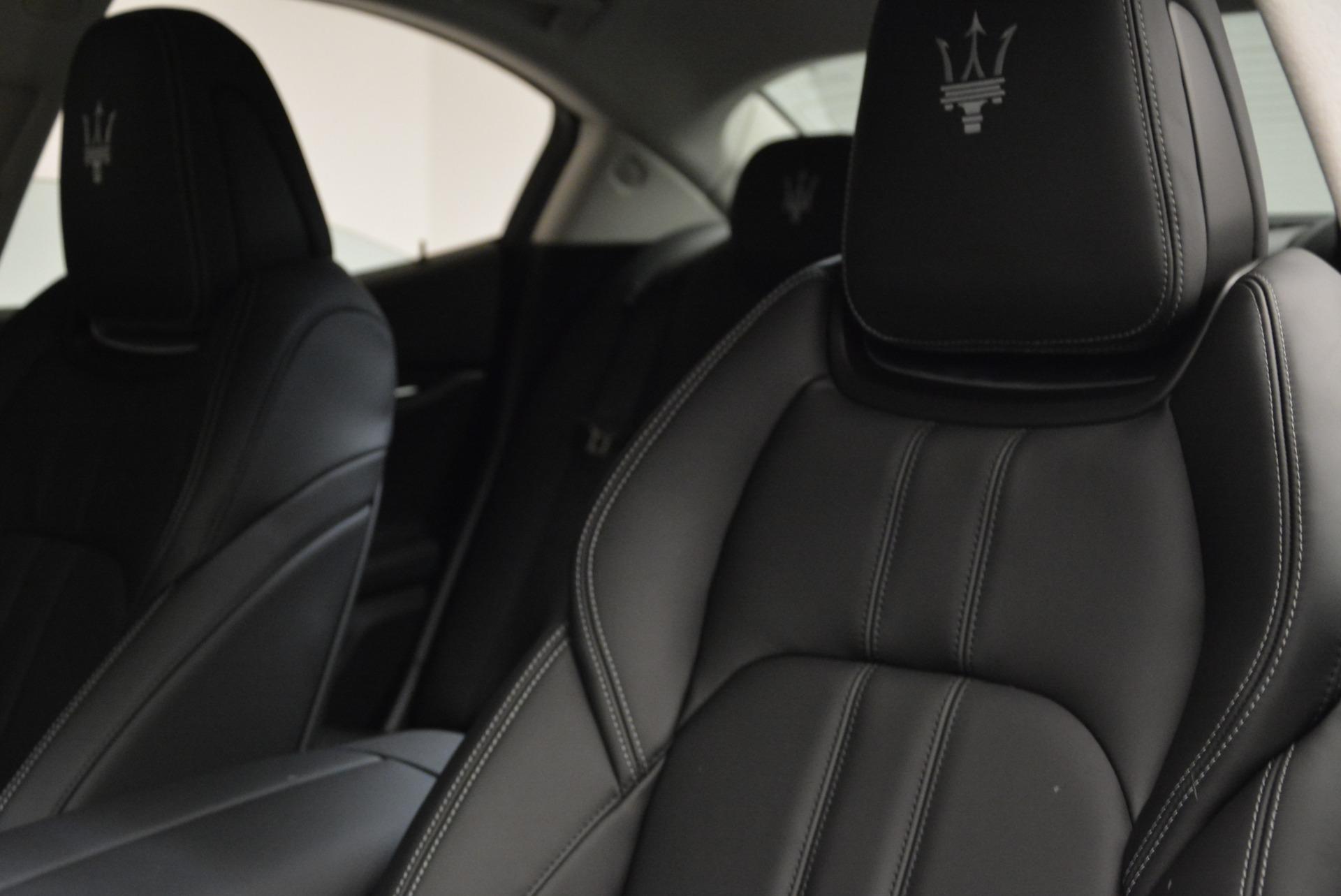 New 2018 Maserati Ghibli S Q4 Gransport For Sale In Westport, CT 1934_p11