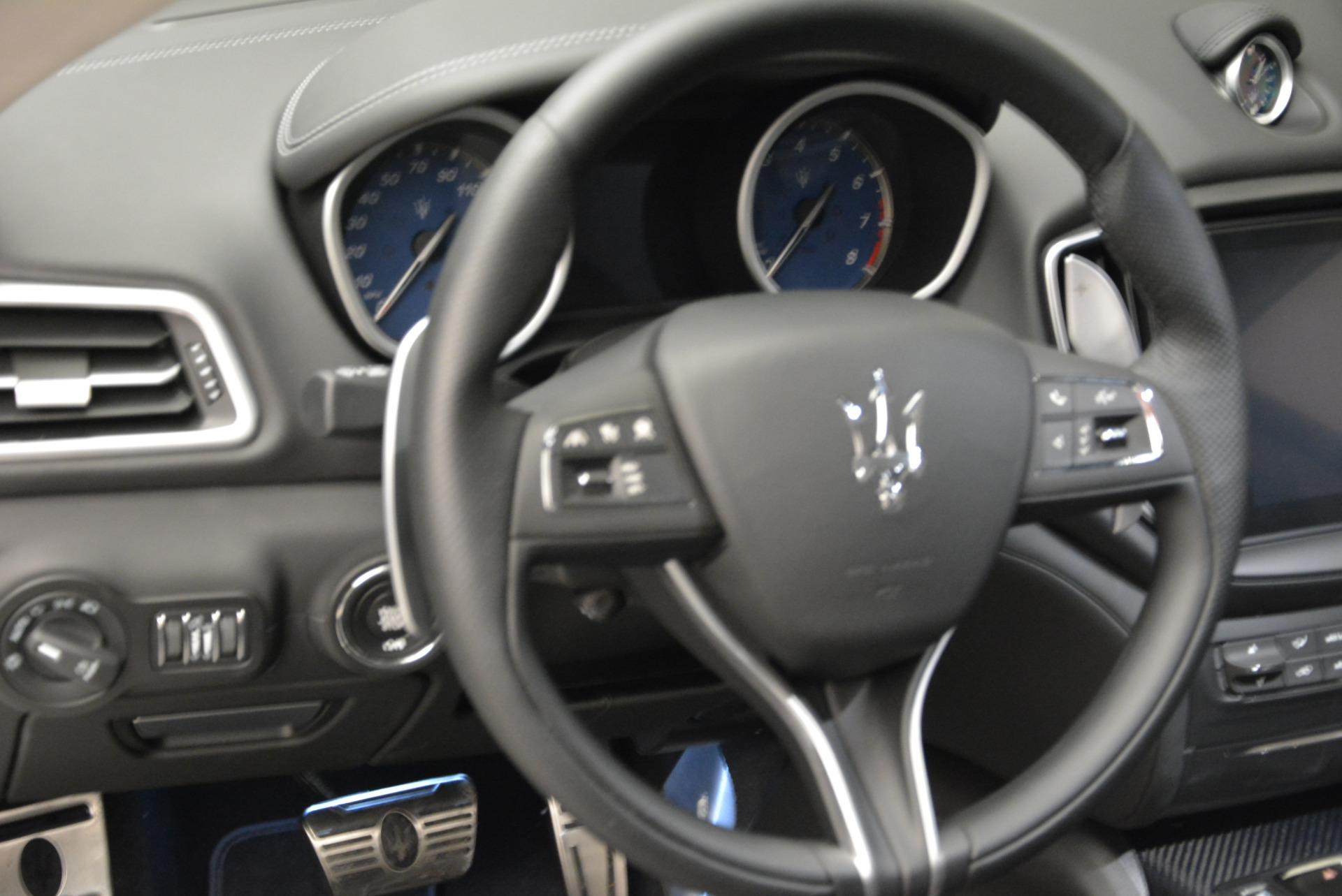 New 2018 Maserati Ghibli S Q4 Gransport For Sale In Westport, CT 1934_p14