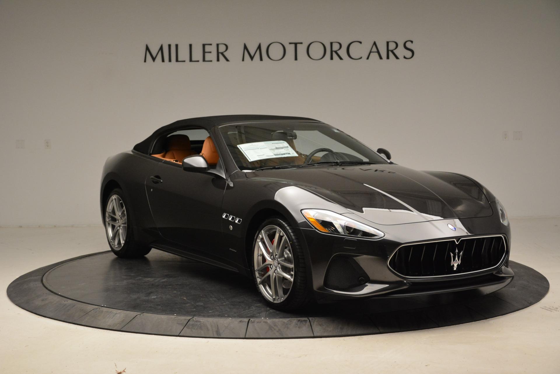 New 2018 Maserati GranTurismo Sport Convertible For Sale In Westport, CT 1942_p11