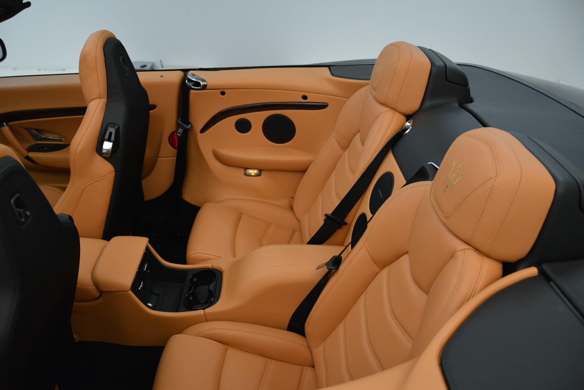 New 2018 Maserati GranTurismo Sport Convertible For Sale In Westport, CT 1942_p32