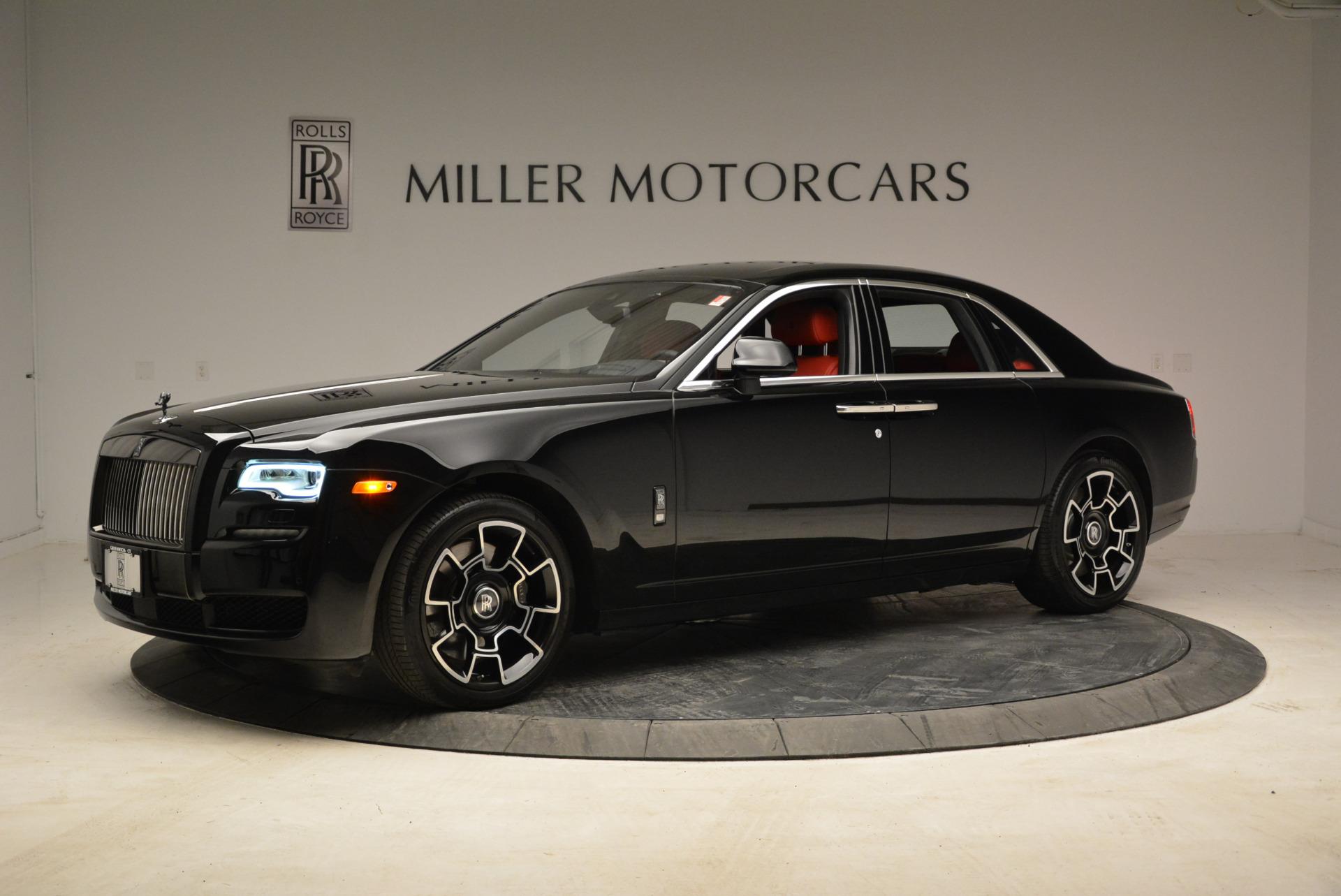 Used 2017 Rolls-Royce Ghost Black Badge For Sale In Westport, CT 1959_p2