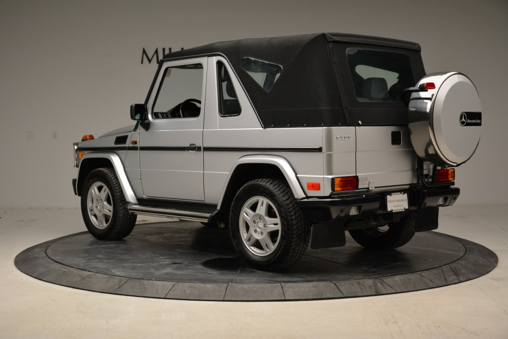 Used 1999 Mercedes Benz G500 Cabriolet For Sale In Westport, CT 1961_p15