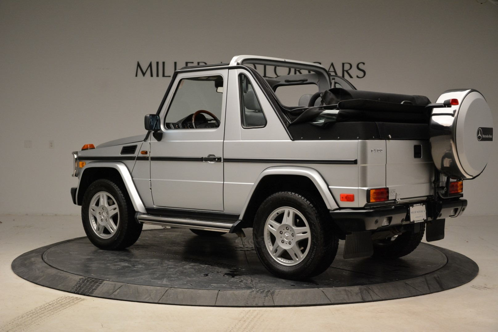 Used 1999 Mercedes Benz G500 Cabriolet For Sale In Westport, CT 1961_p4