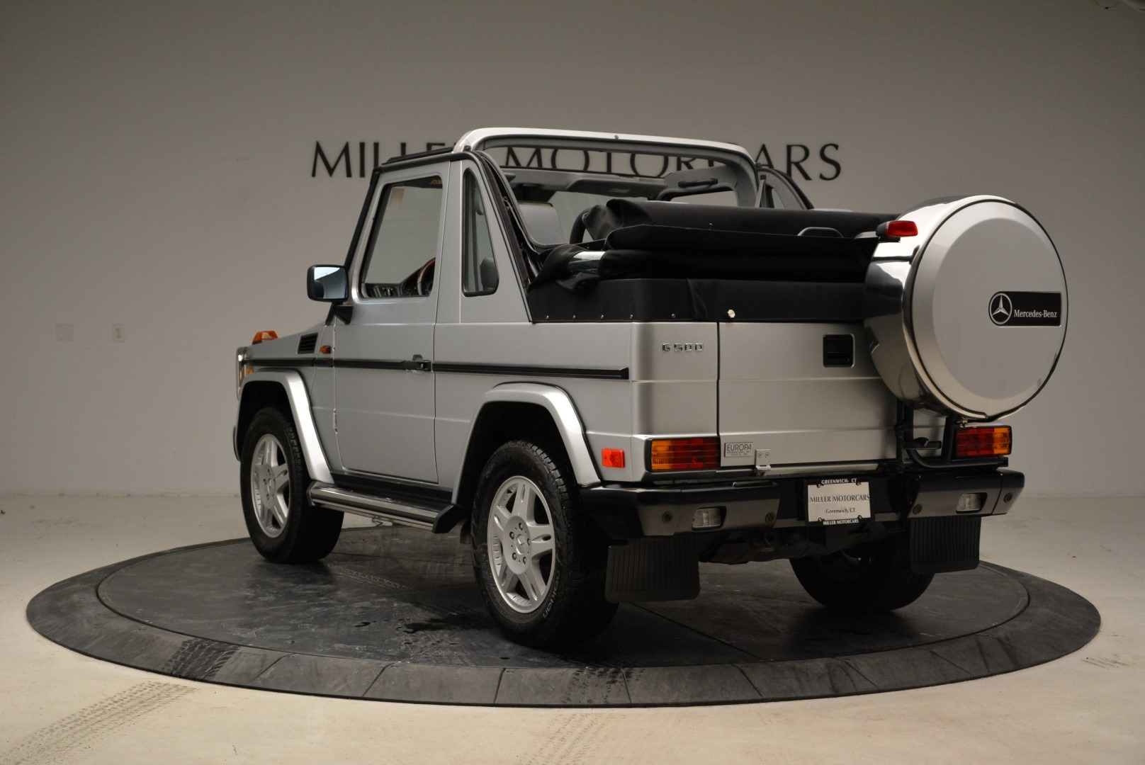 Used 1999 Mercedes Benz G500 Cabriolet For Sale In Westport, CT 1961_p5
