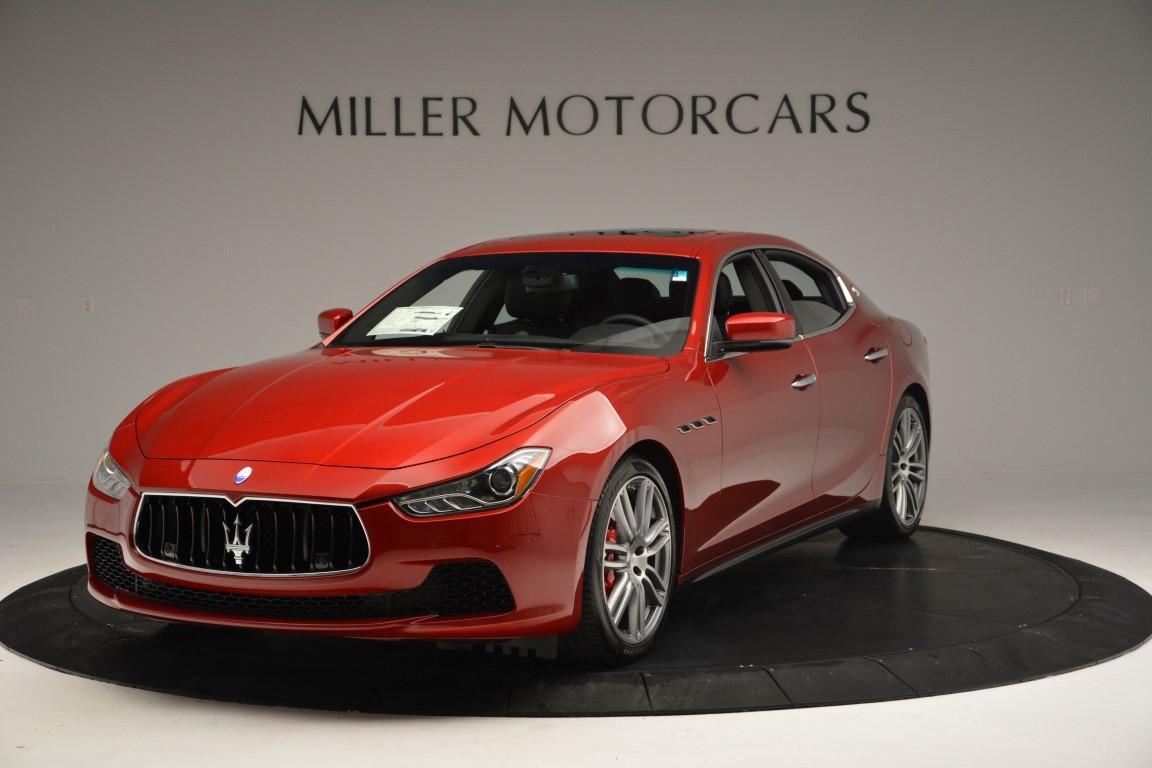 New 2016 Maserati Ghibli S Q4 For Sale In Westport, CT 197_main
