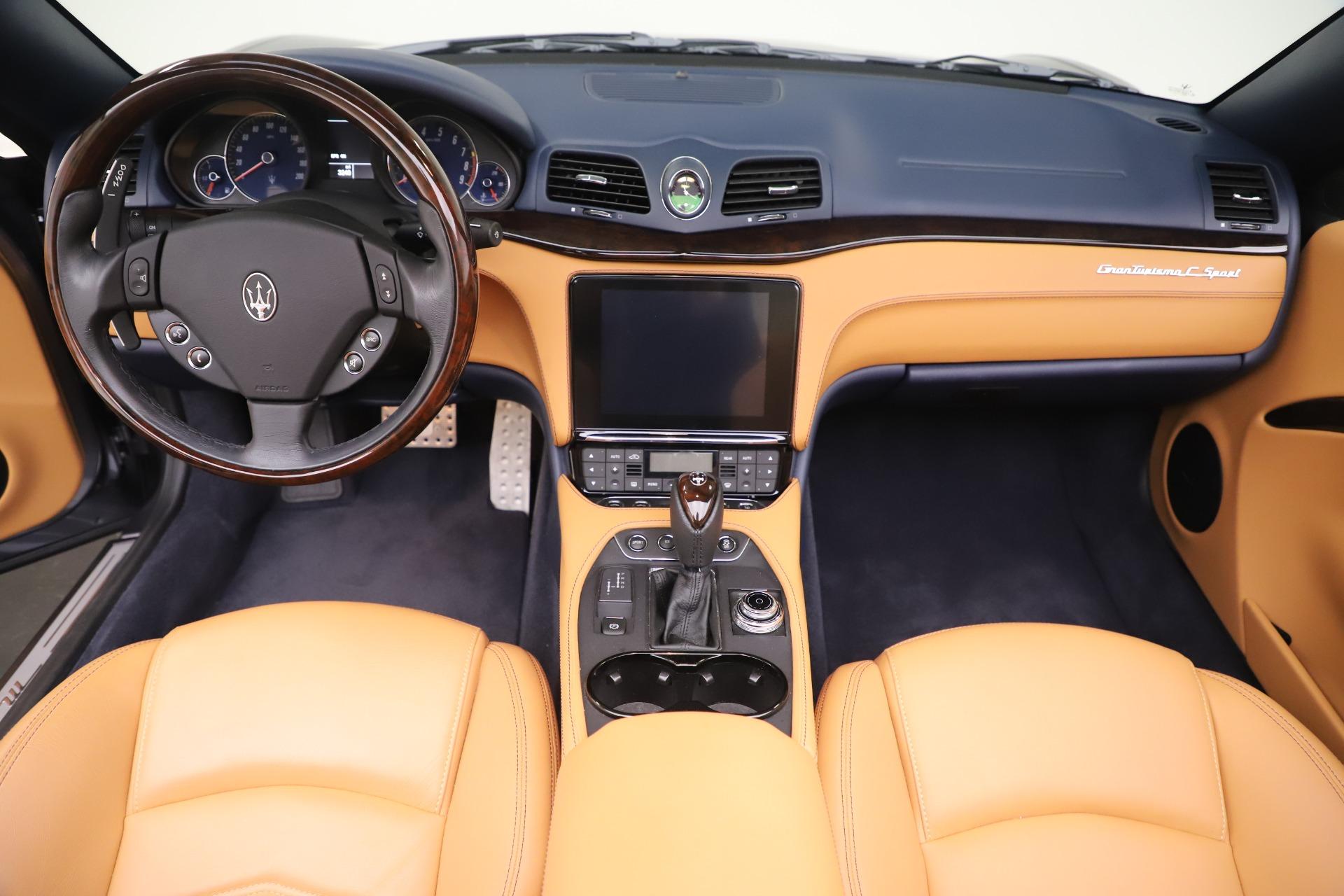 New 2018 Maserati GranTurismo Sport Convertible For Sale In Westport, CT 1977_p22