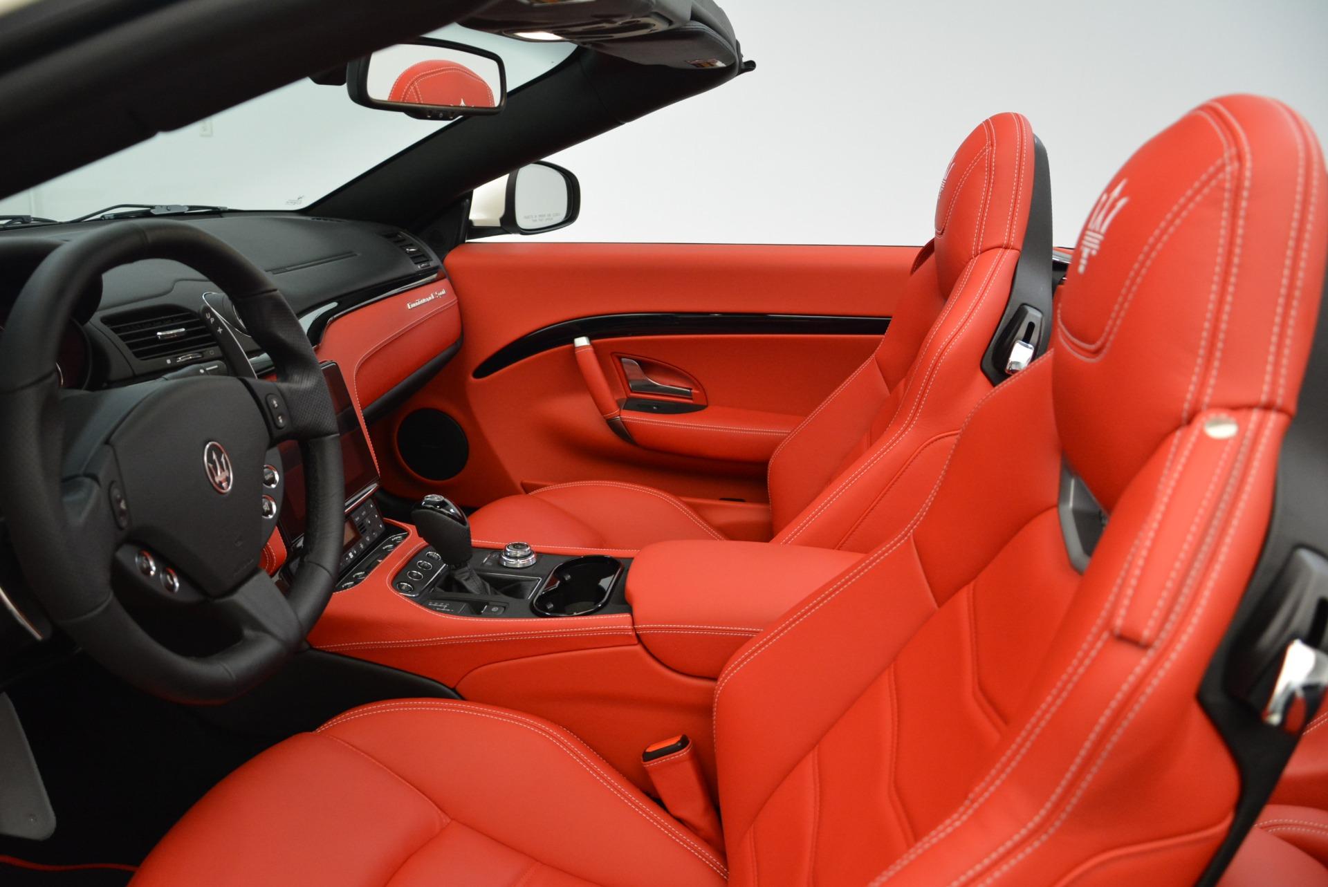 New 2018 Maserati GranTurismo Sport Convertible For Sale In Westport, CT 1979_p25