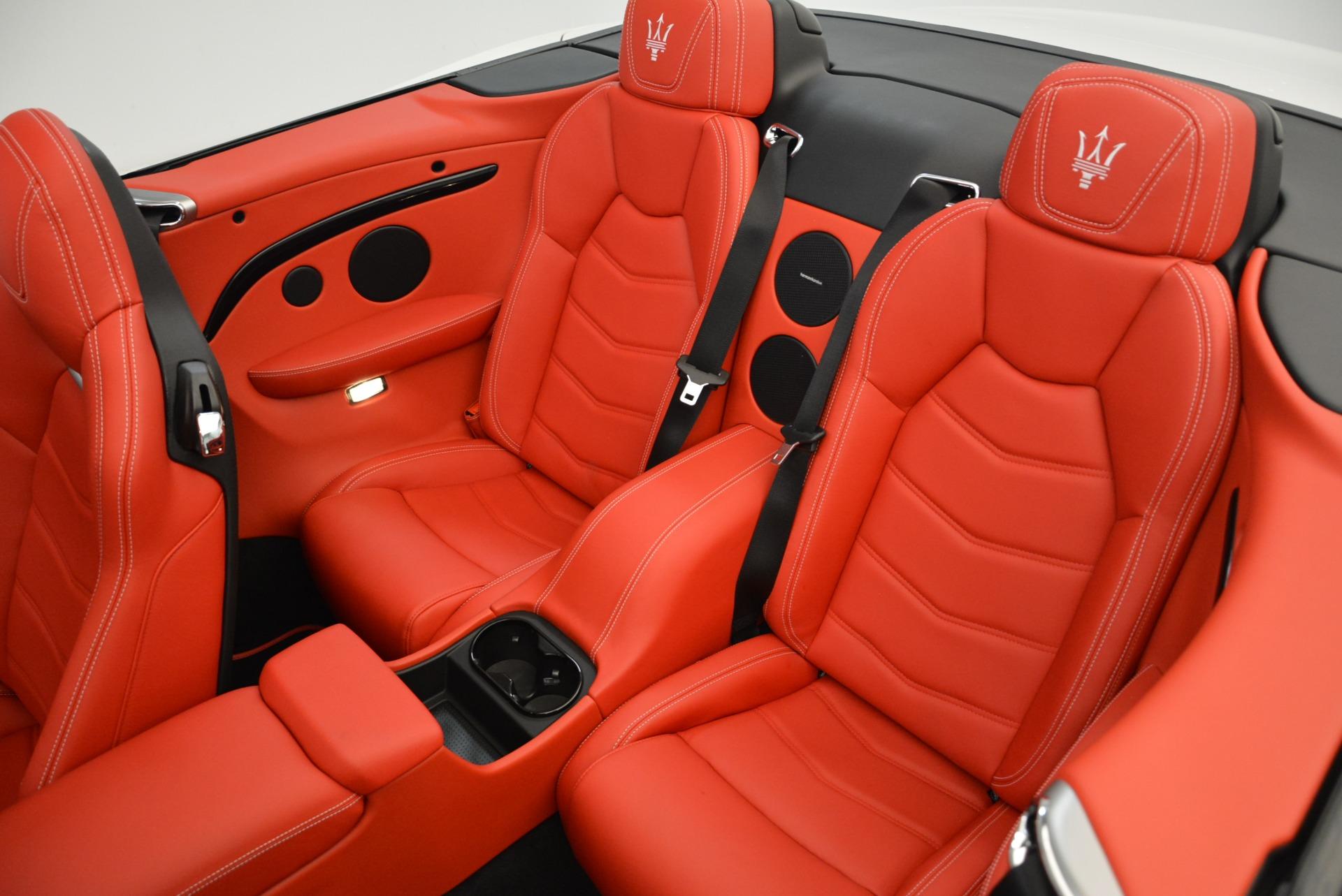 New 2018 Maserati GranTurismo Sport Convertible For Sale In Westport, CT 1979_p30