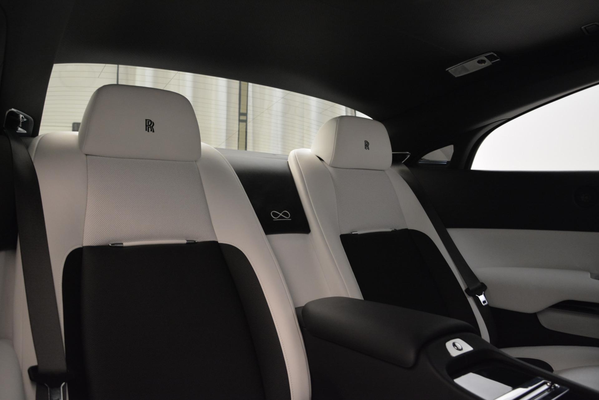 Used 2017 Rolls-Royce Wraith Black Badge For Sale In Westport, CT 1994_p27