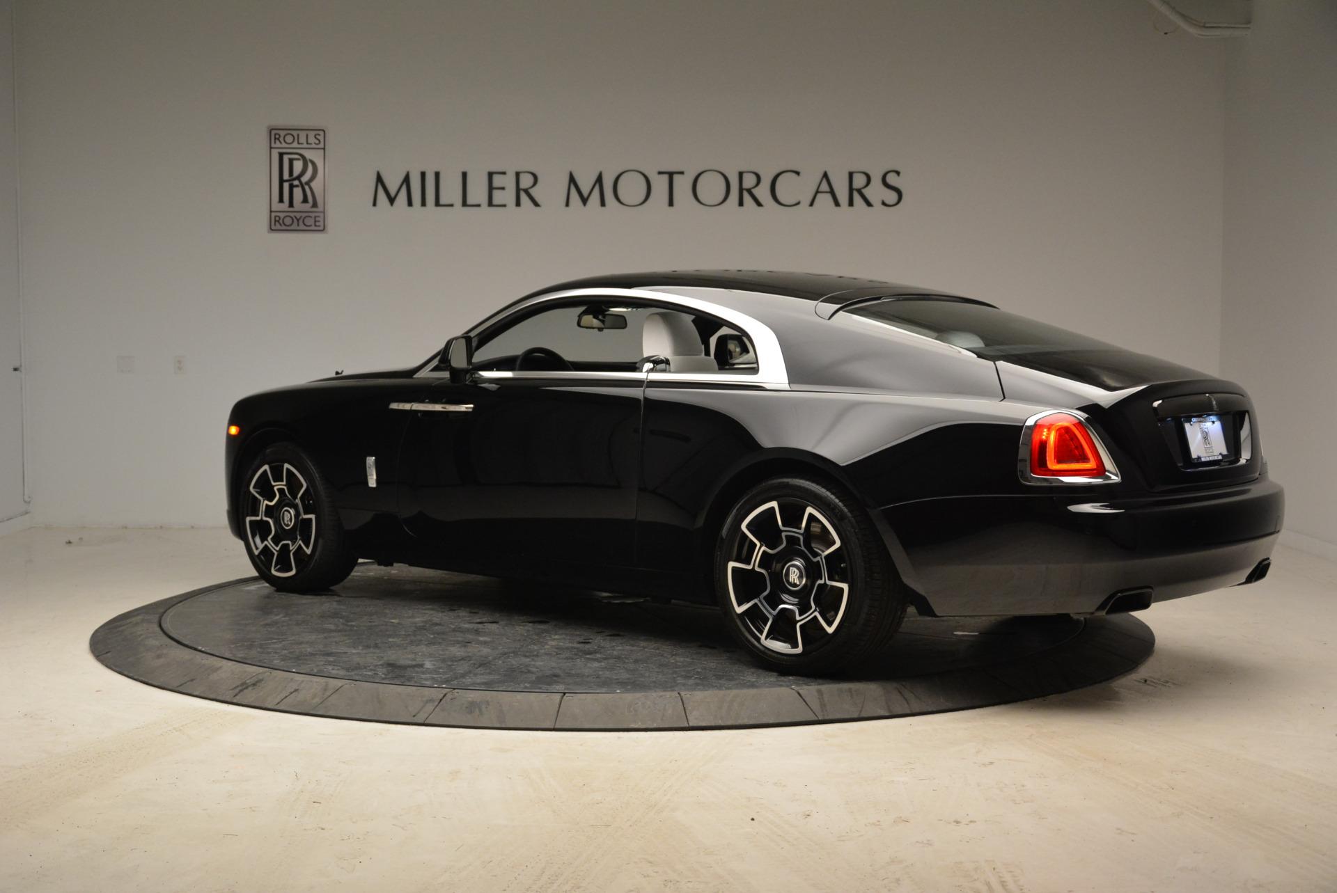 Used 2017 Rolls-Royce Wraith Black Badge For Sale In Westport, CT 1994_p4