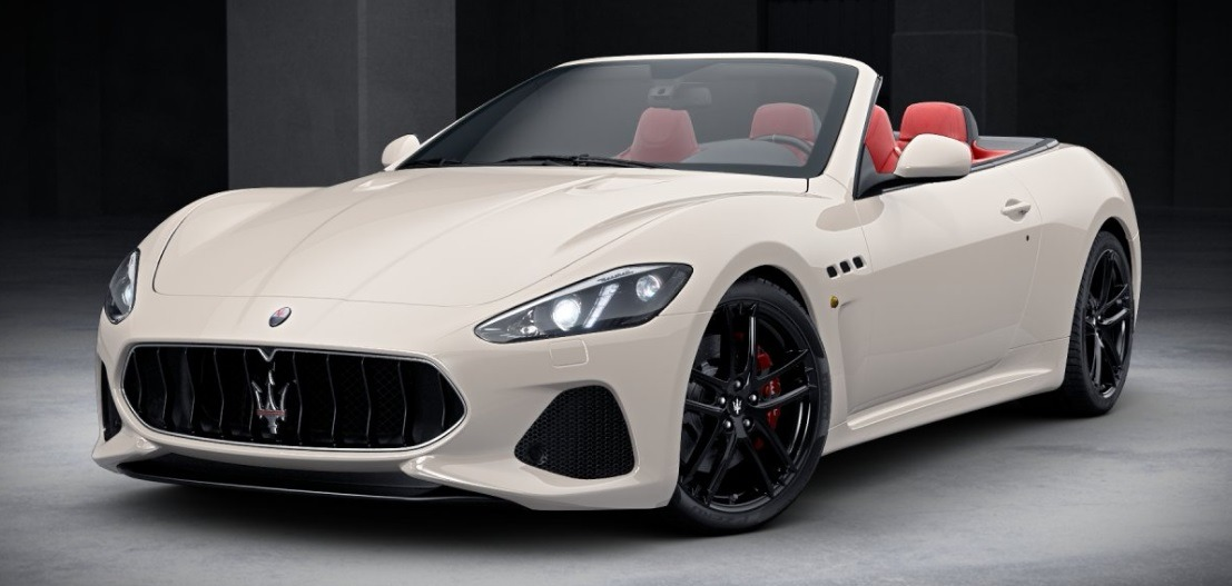 New 2018 Maserati GranTurismo Sport Convertible For Sale In Westport, CT 2001_main