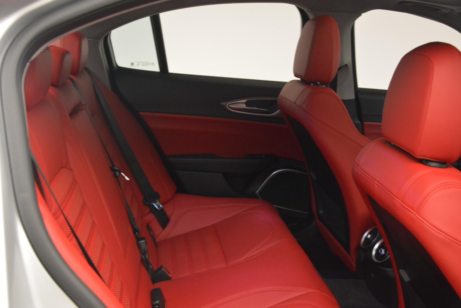 New 2018 Alfa Romeo Giulia Ti Sport Q4 For Sale In Westport, CT 2003_p23