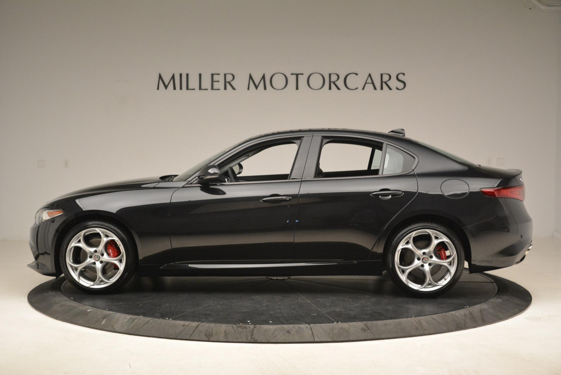 New 2018 Alfa Romeo Giulia Ti Sport Q4 For Sale In Westport, CT 2004_p3