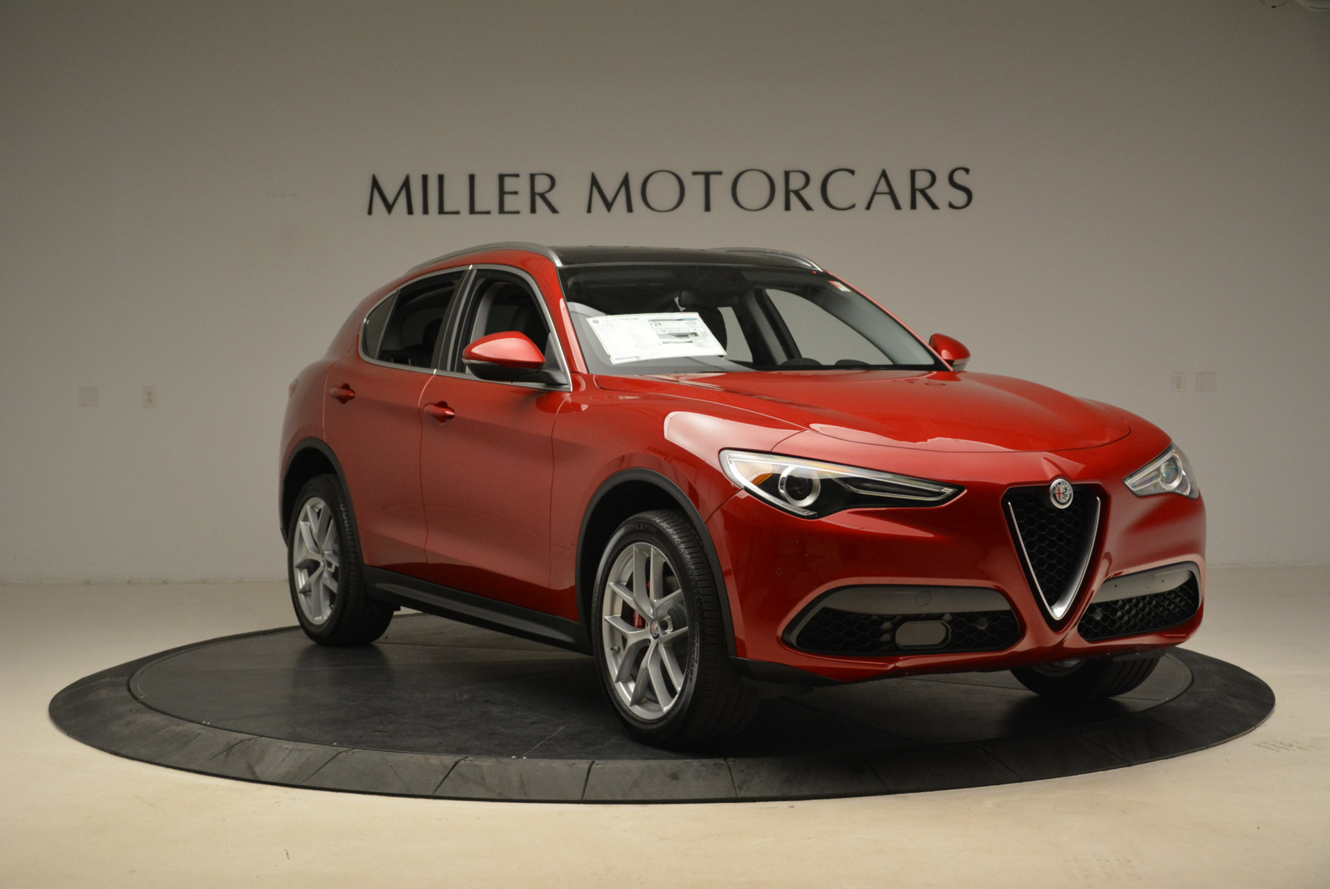 New 2018 Alfa Romeo Stelvio Ti Q4 For Sale In Westport, CT 2005_p11
