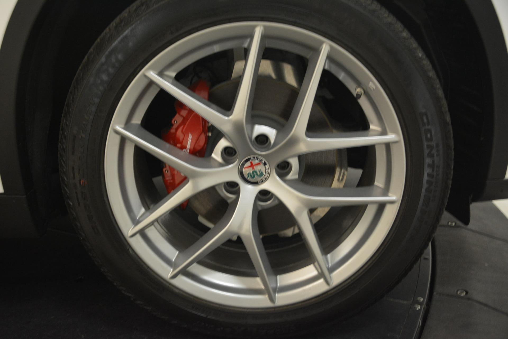 New 2018 Alfa Romeo Stelvio Ti Sport Q4 For Sale In Westport, CT 2008_p25