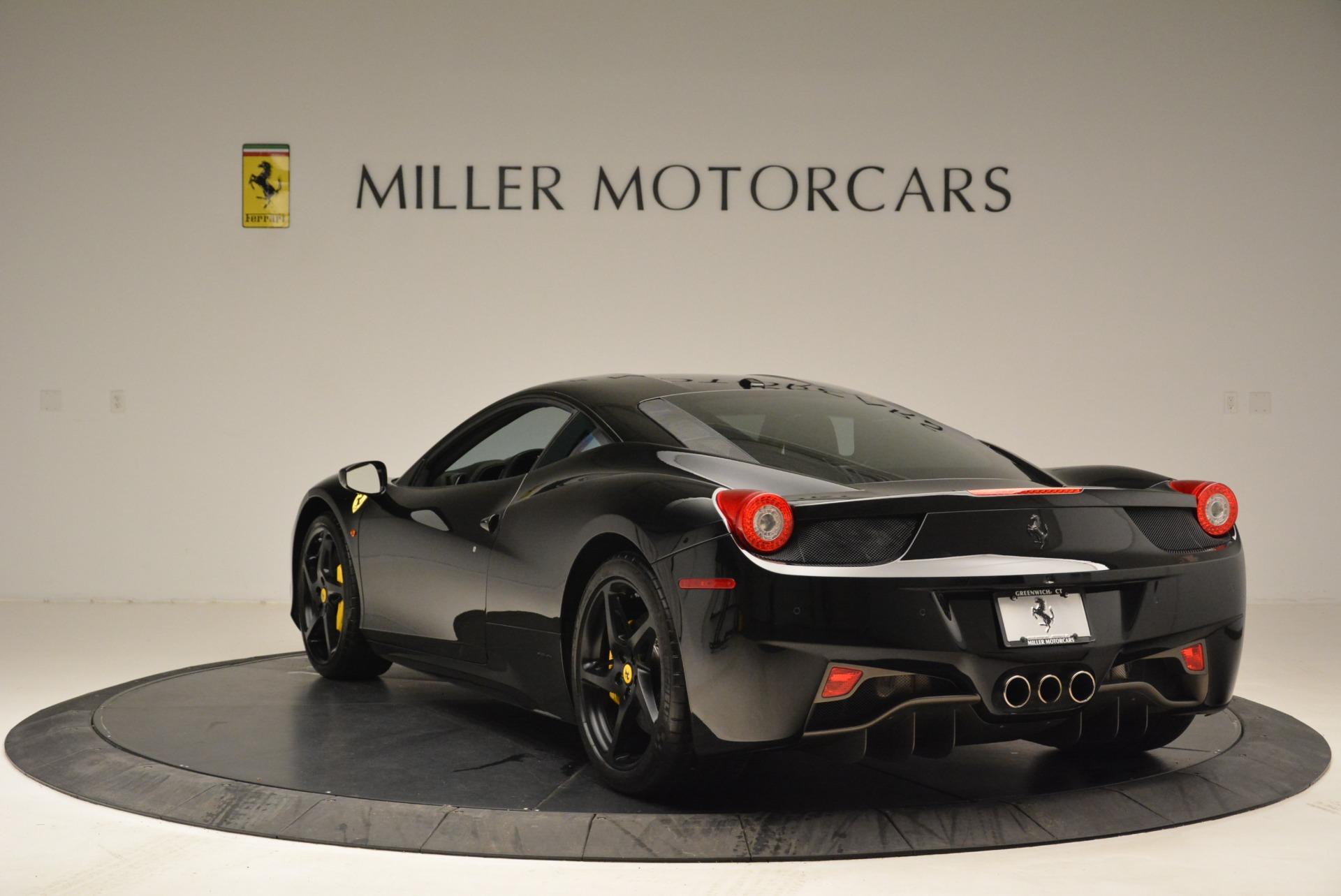 Used 2011 Ferrari 458 Italia  For Sale In Westport, CT 2018_p5