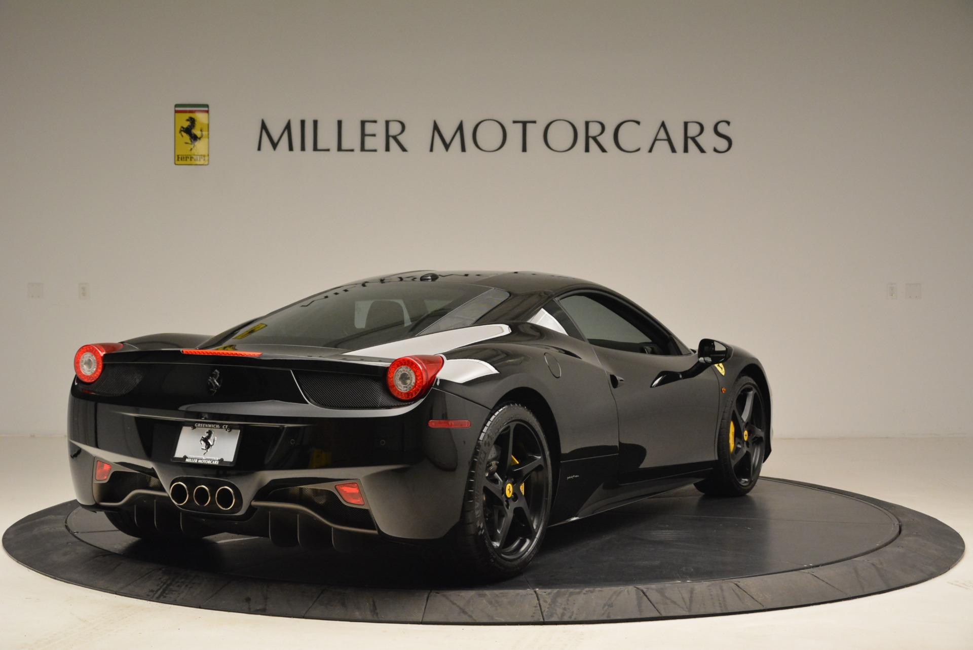 Used 2011 Ferrari 458 Italia  For Sale In Westport, CT 2018_p7