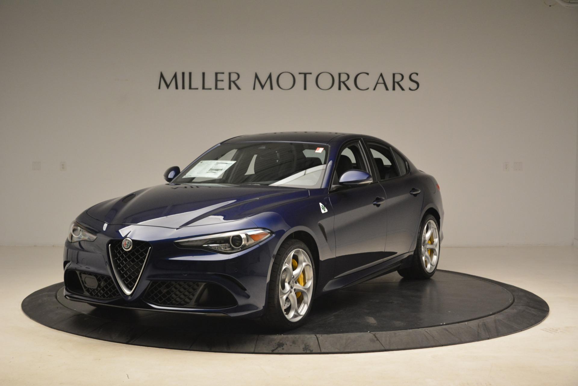 New 2018 Alfa Romeo Giulia Quadrifoglio For Sale In Westport, CT 2026_main