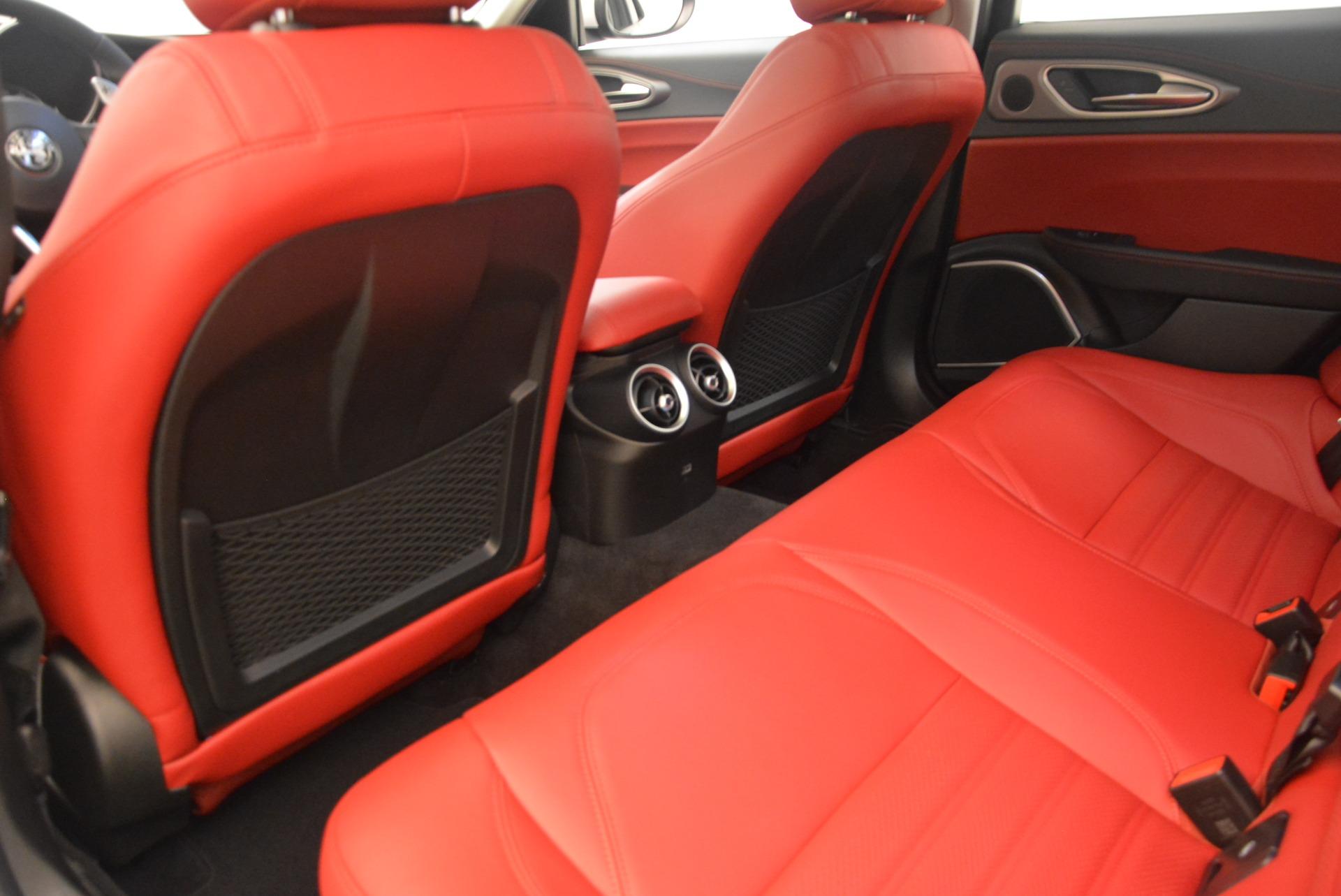 New 2018 Alfa Romeo Giulia Ti Sport Q4 For Sale In Westport, CT 2028_p5