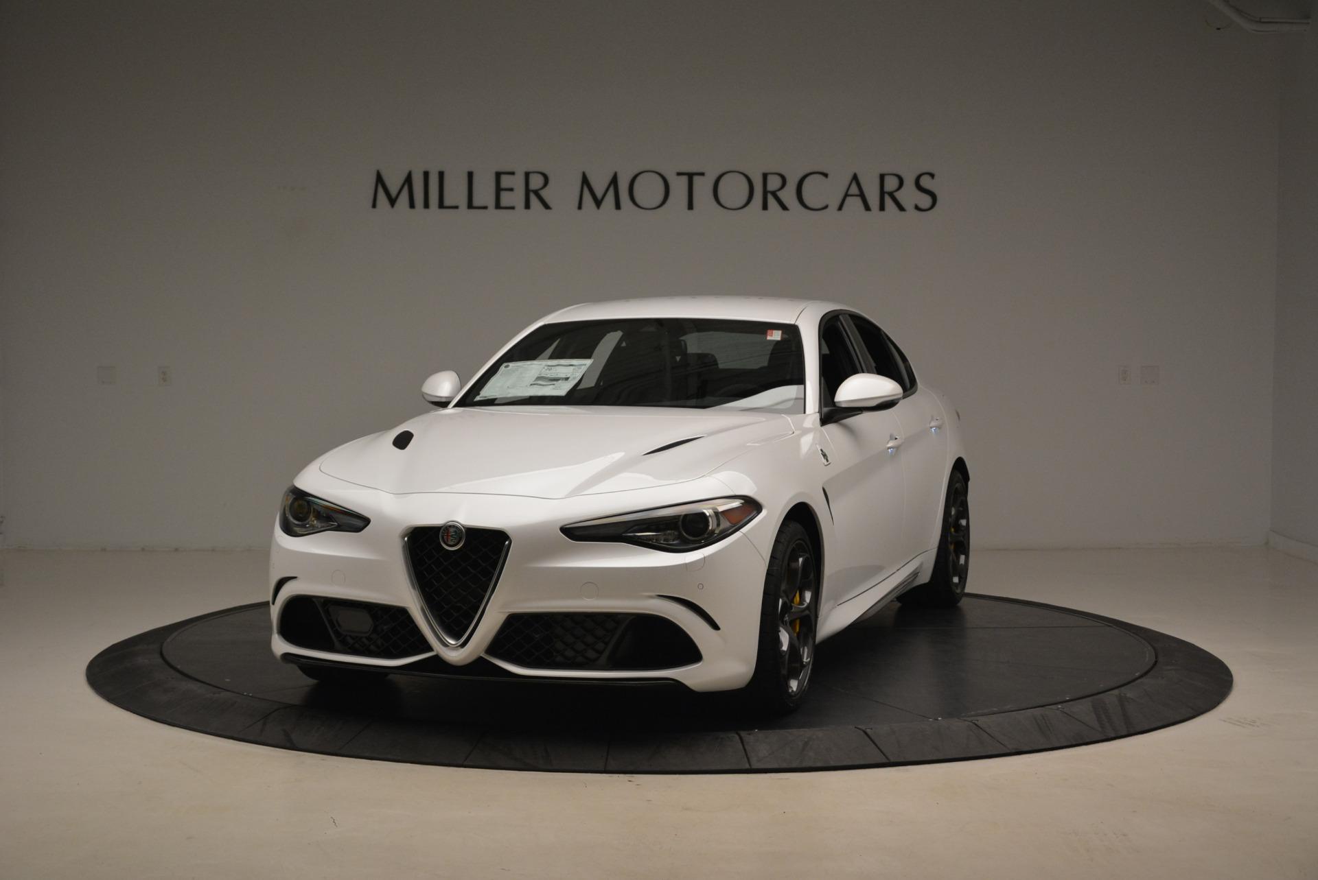 New 2018 Alfa Romeo Giulia Quadrifoglio For Sale In Westport, CT 2031_main
