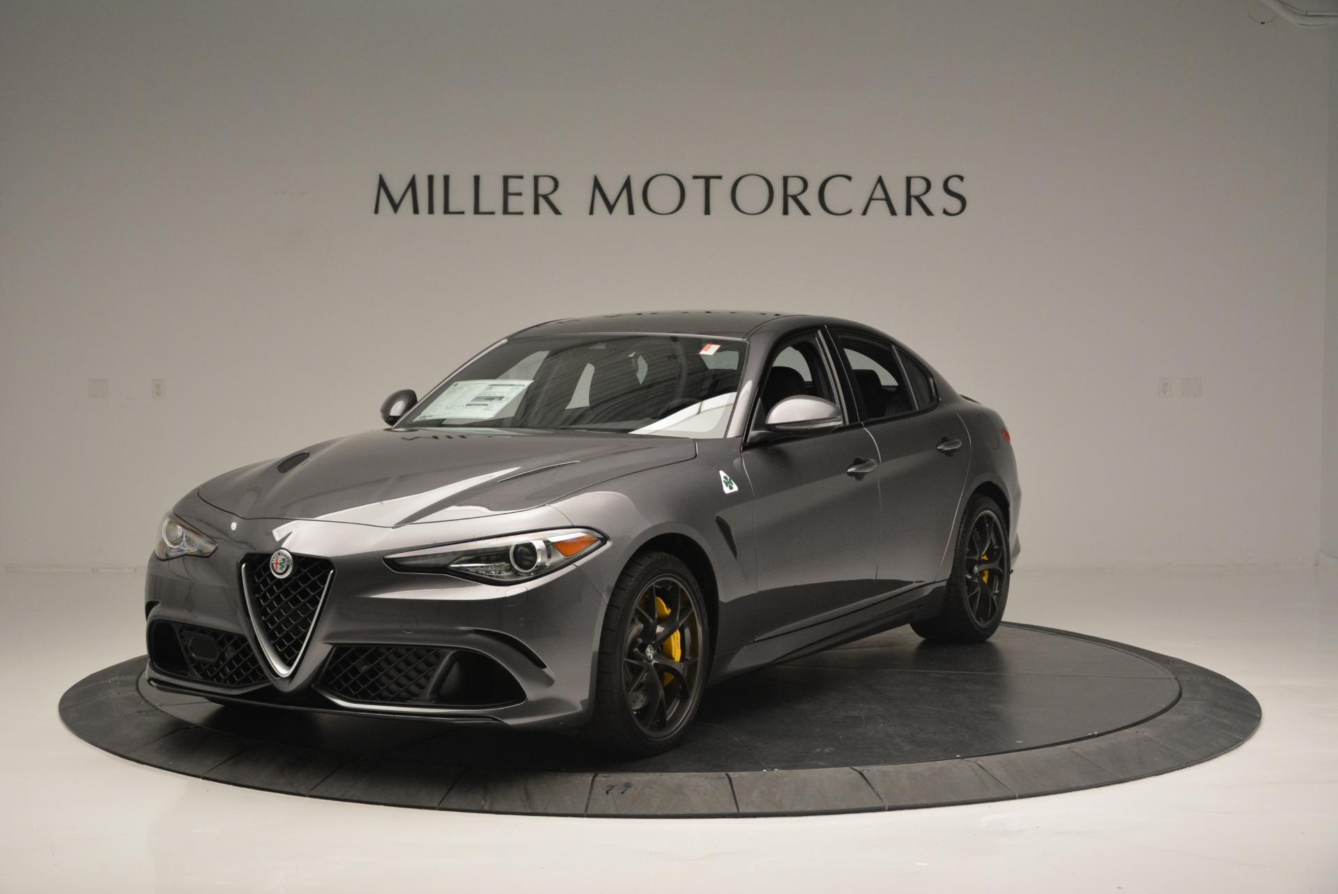 New 2018 Alfa Romeo Giulia Quadrifoglio For Sale In Westport, CT 2032_main