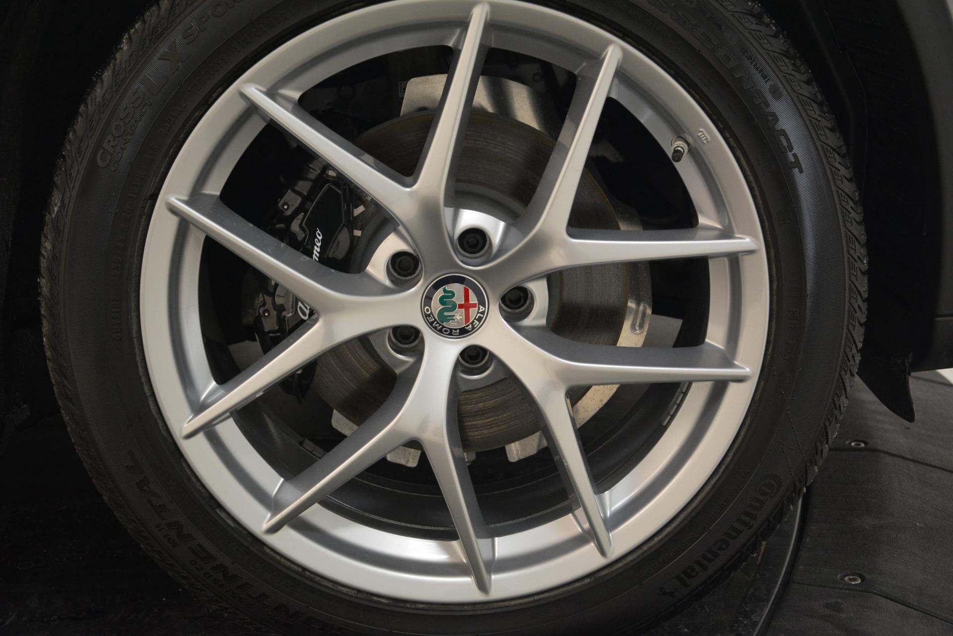 New 2018 Alfa Romeo Stelvio Ti Sport Q4 For Sale In Westport, CT 2040_p25