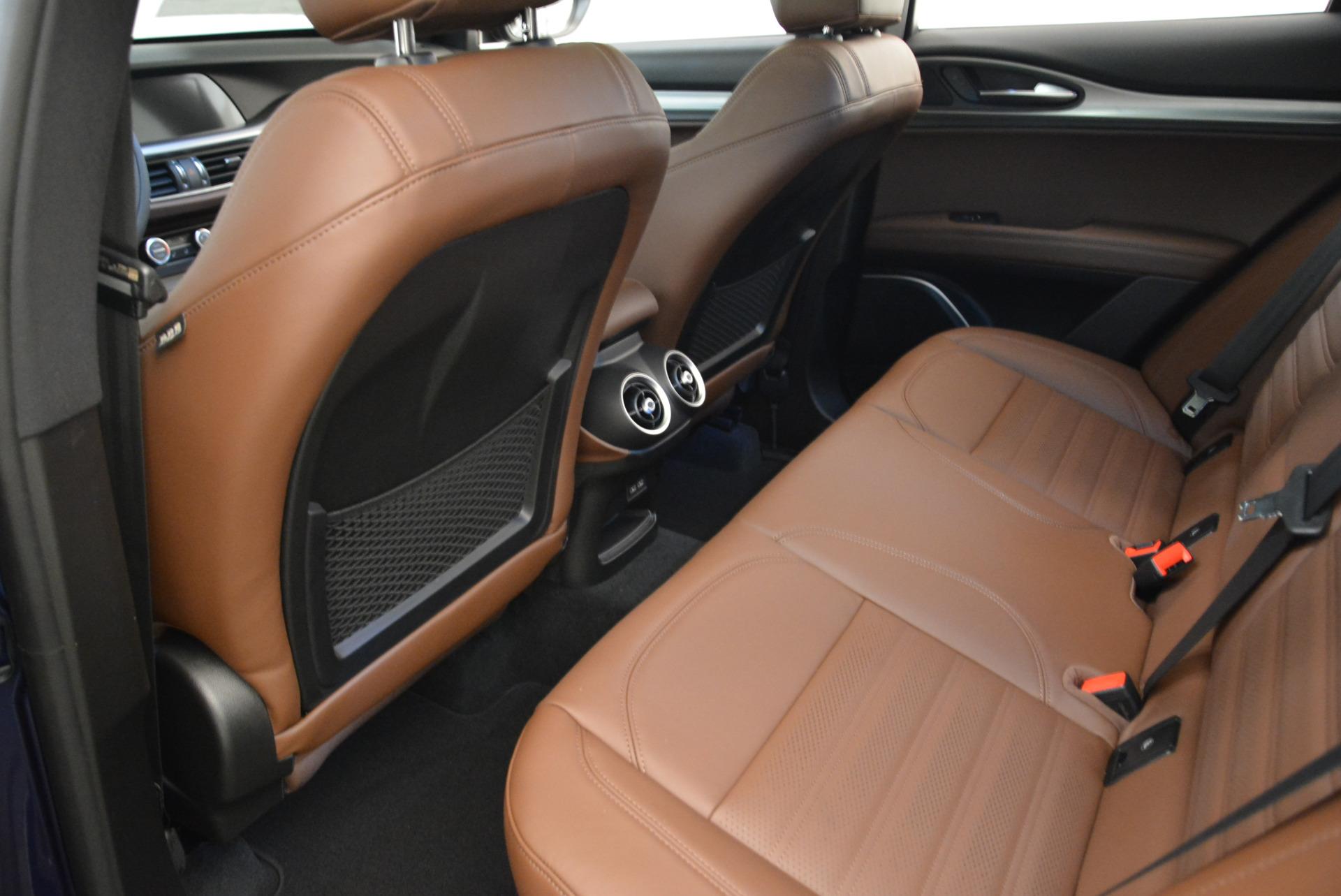 New 2018 Alfa Romeo Stelvio Ti Sport Q4 For Sale In Westport, CT 2042_p16