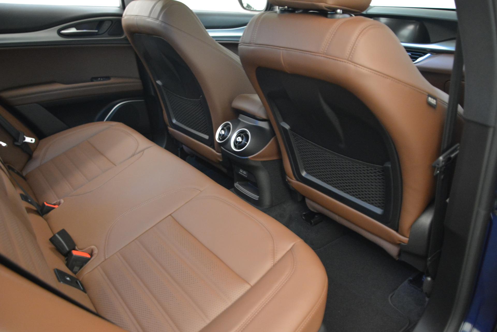 New 2018 Alfa Romeo Stelvio Ti Sport Q4 For Sale In Westport, CT 2042_p22