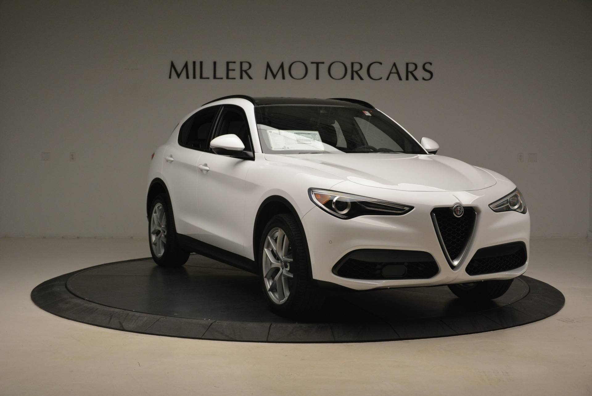 New 2018 Alfa Romeo Stelvio Ti Sport Q4 For Sale In Westport, CT 2044_p11