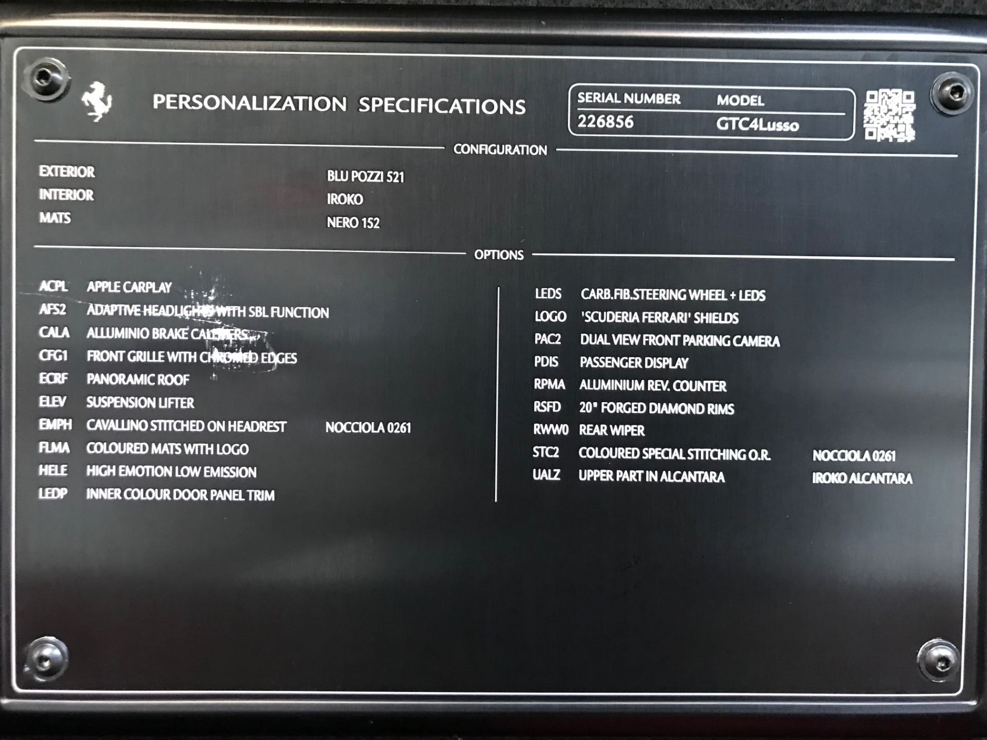 Used 2017 Ferrari GTC4Lusso  For Sale In Westport, CT 2047_p24