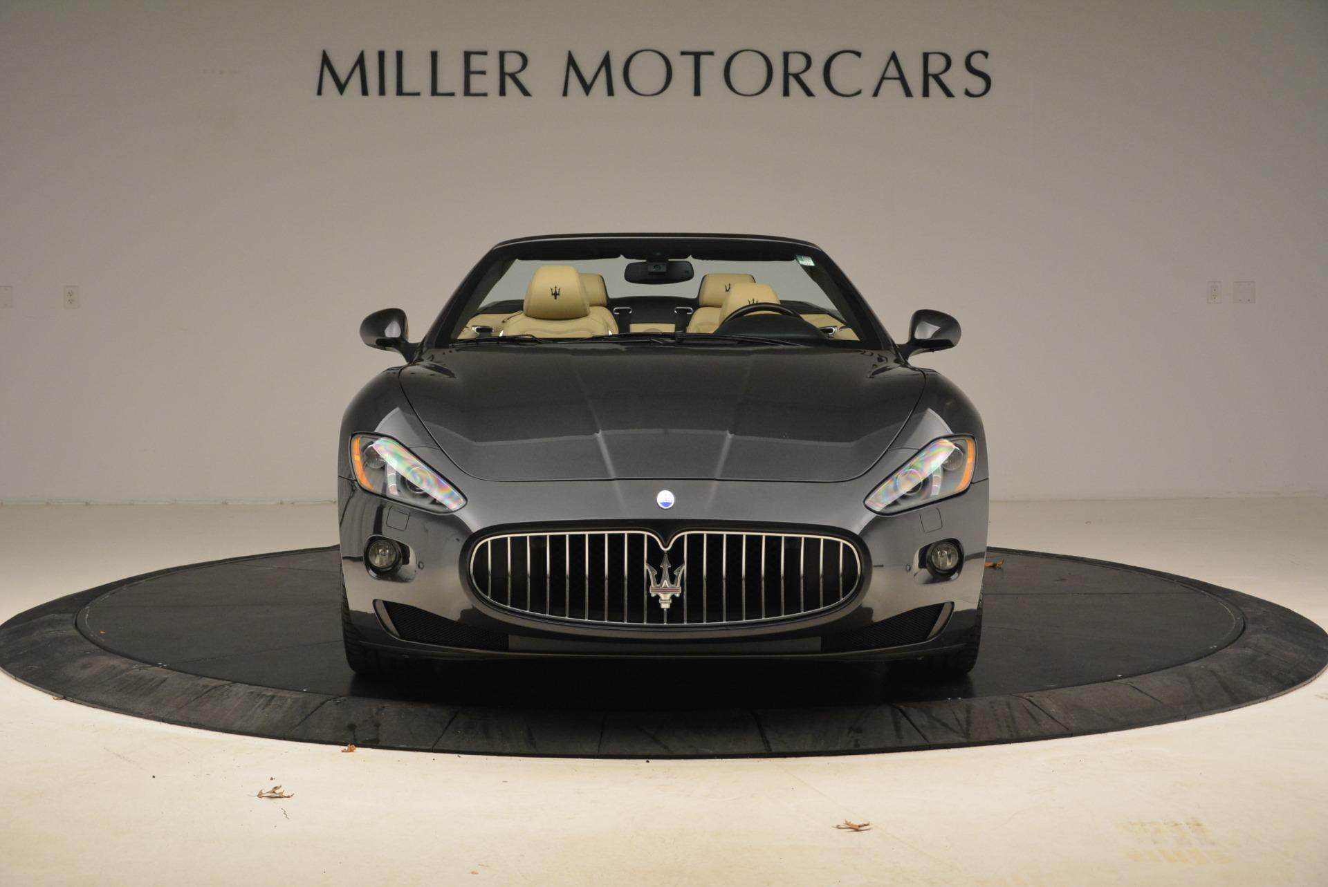 Used 2013 Maserati GranTurismo Convertible  For Sale In Westport, CT 2050_p12