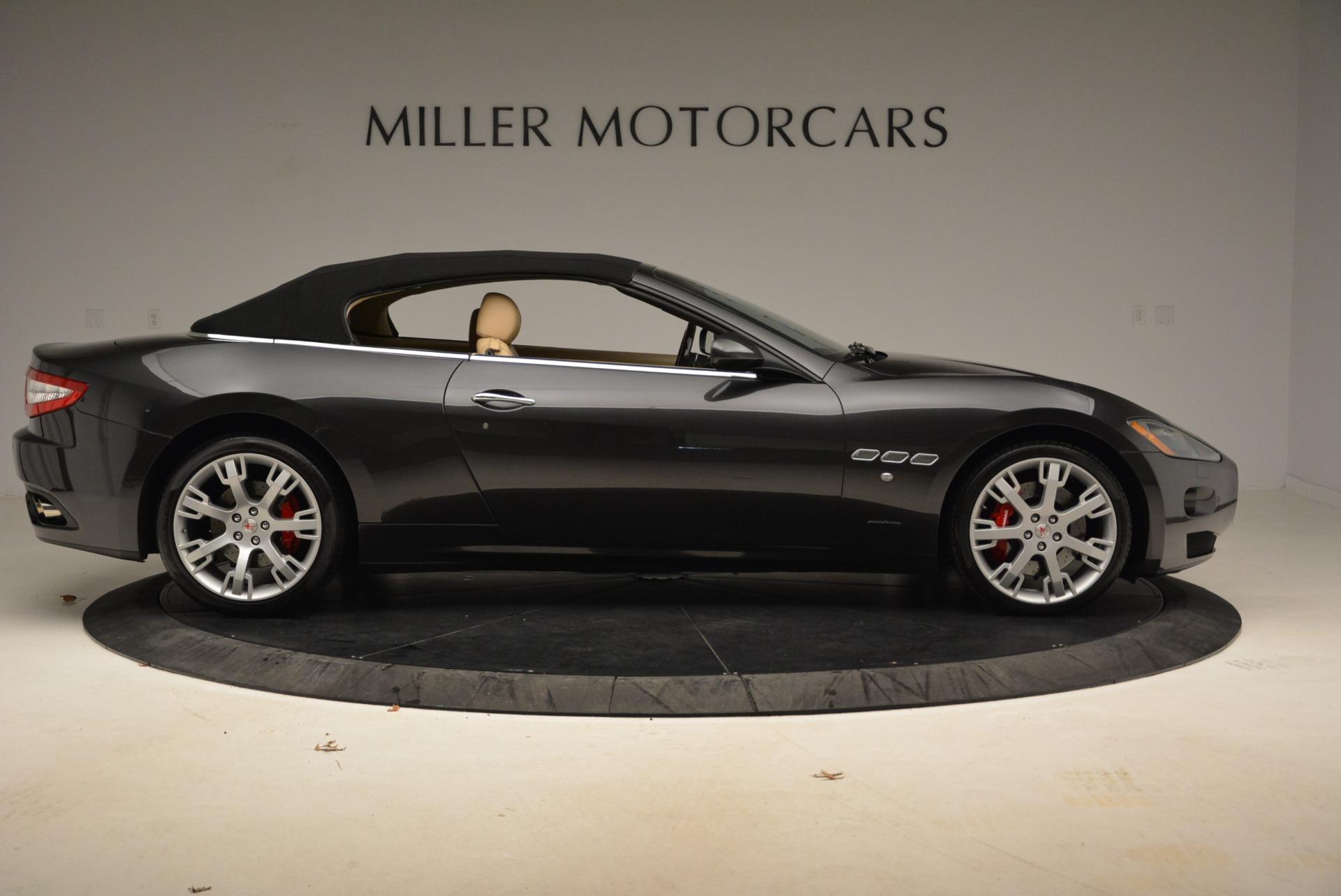 Used 2013 Maserati GranTurismo Convertible  For Sale In Westport, CT 2050_p21