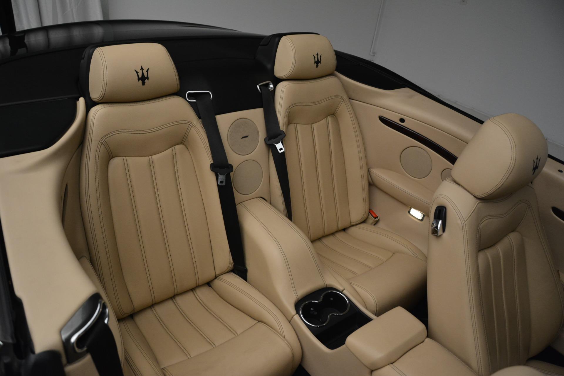 Used 2013 Maserati GranTurismo Convertible  For Sale In Westport, CT 2050_p35