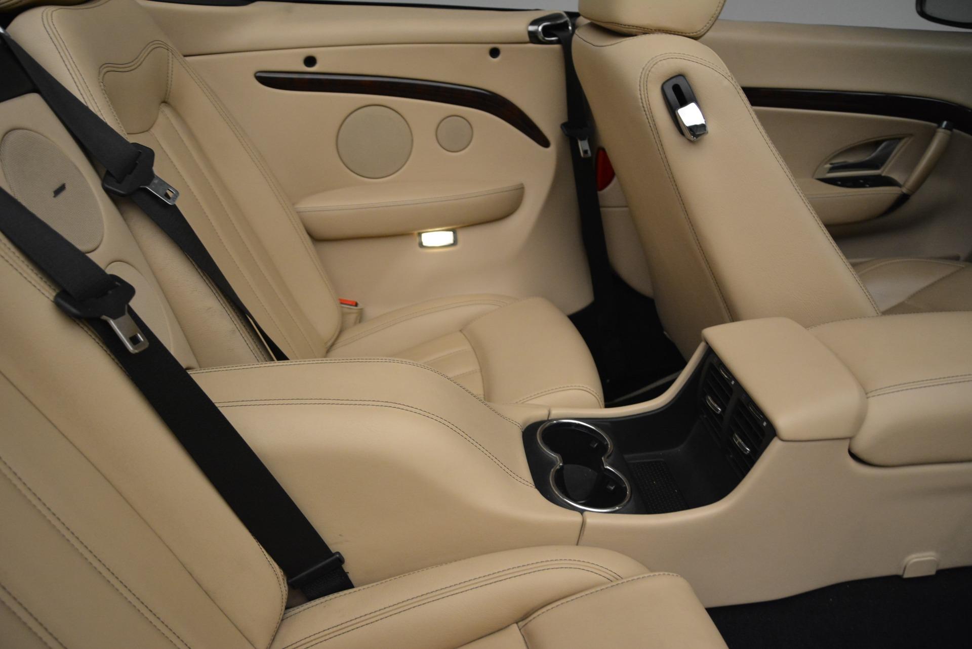 Used 2013 Maserati GranTurismo Convertible  For Sale In Westport, CT 2050_p37