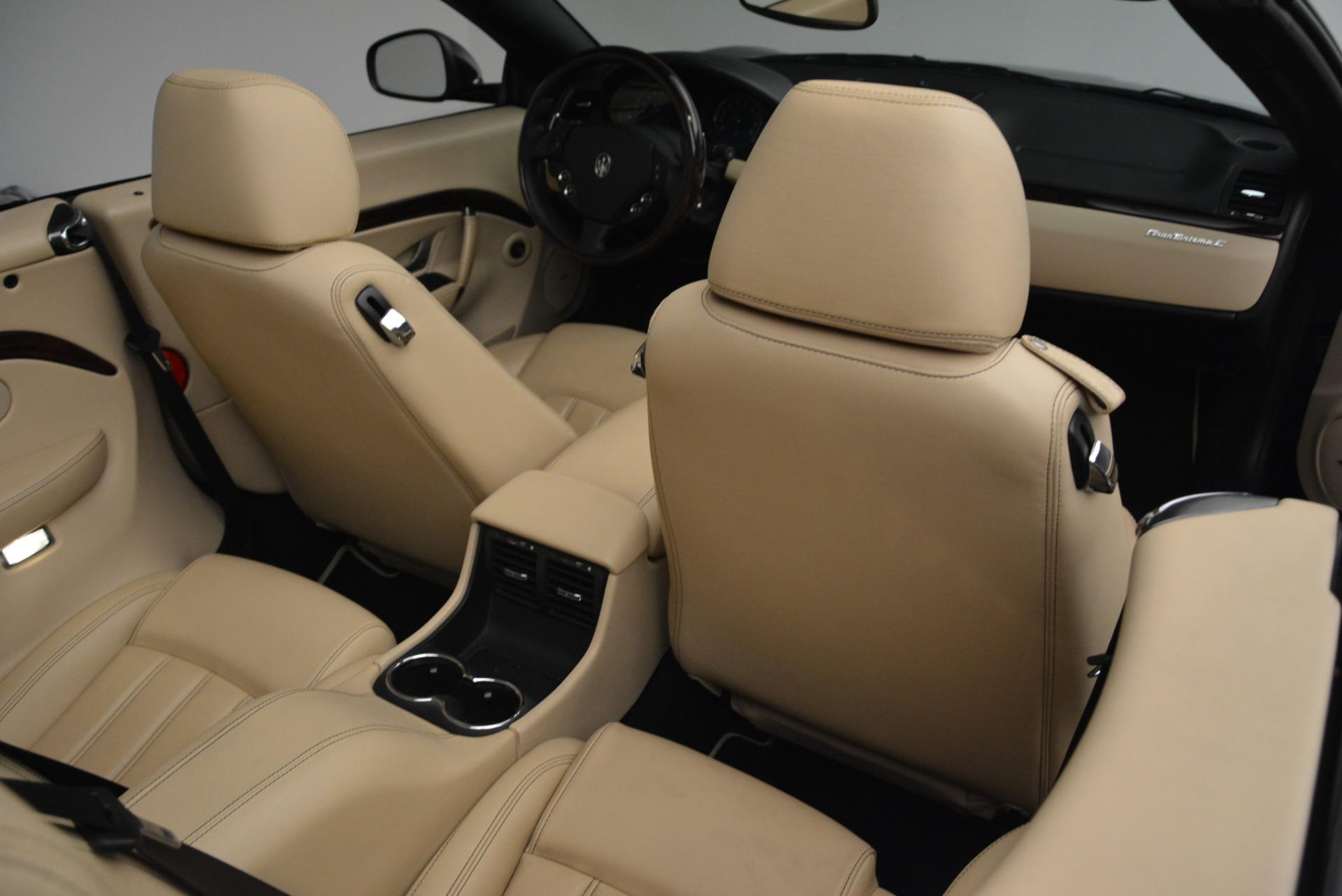Used 2013 Maserati GranTurismo Convertible  For Sale In Westport, CT 2050_p38