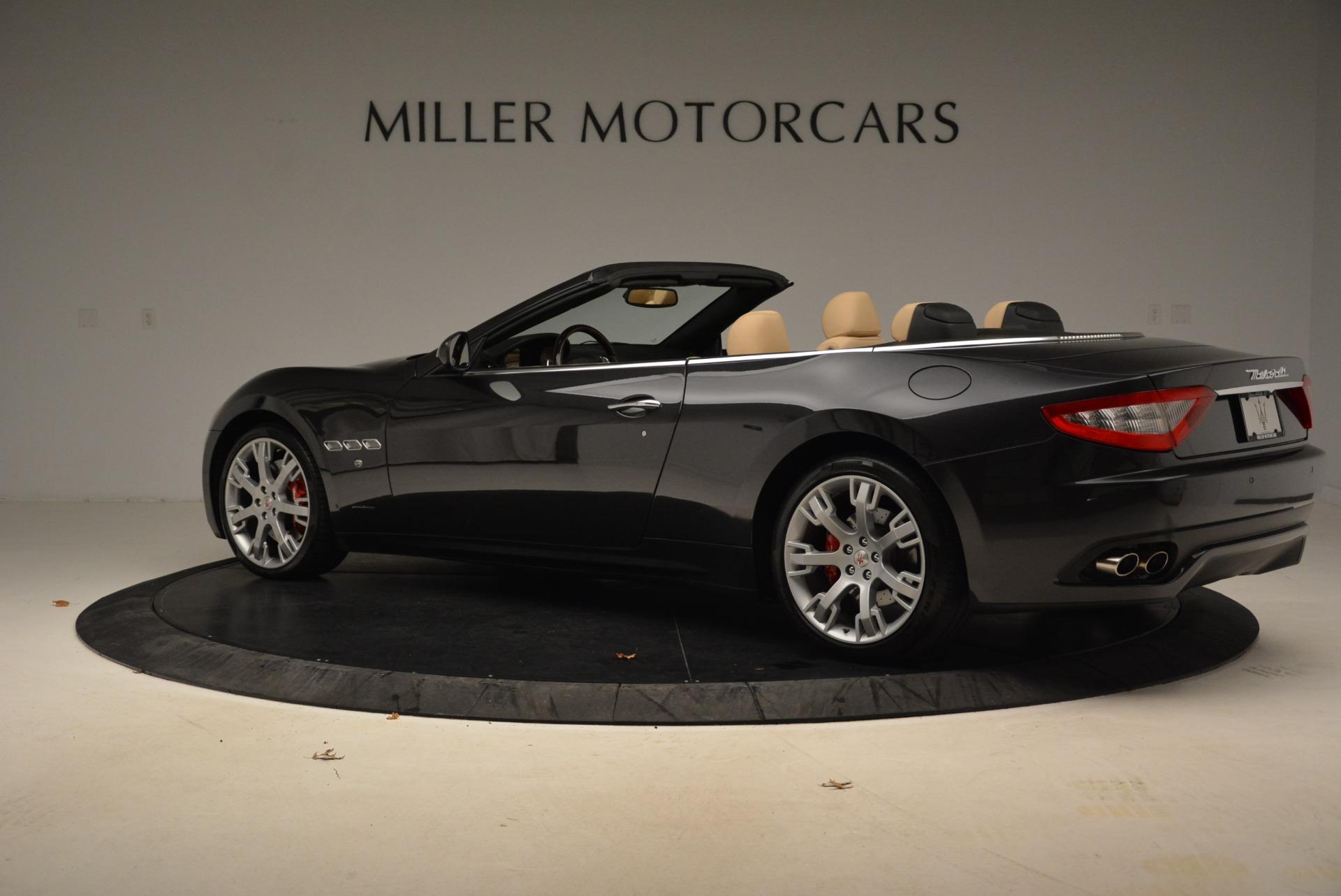 Used 2013 Maserati GranTurismo Convertible  For Sale In Westport, CT 2050_p4